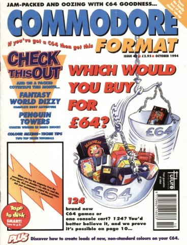 Commodore Format Issue 49 (October 1994)