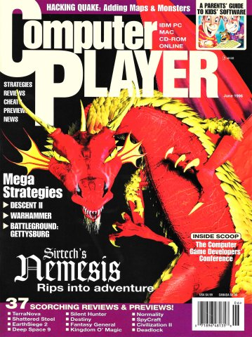 Computer Player Vol.3 Issue 01 (June 1996)