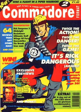 Commodore Format Issue 02 (November 1990)
