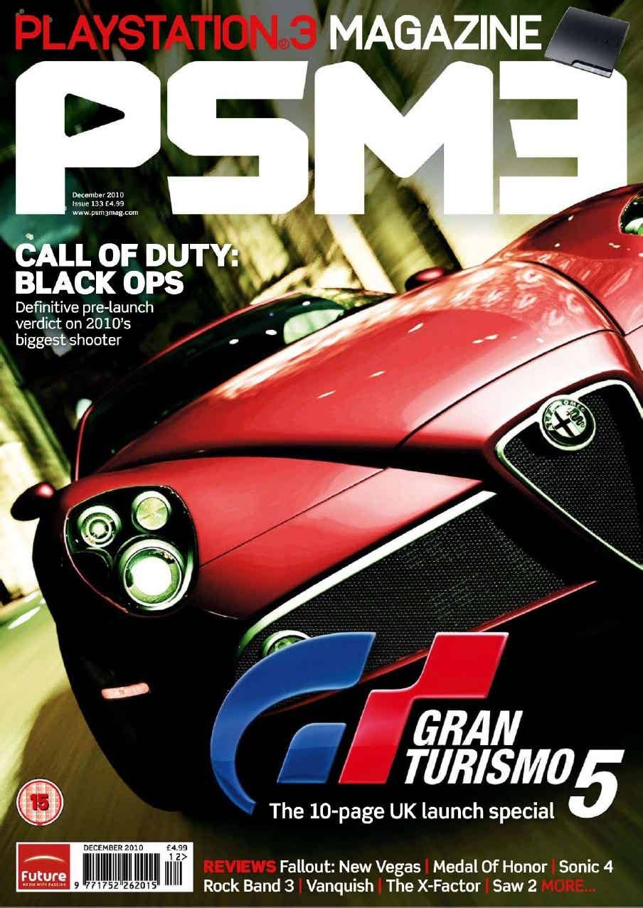 PSM3 Issue 133 (December 2010) *cover 2*