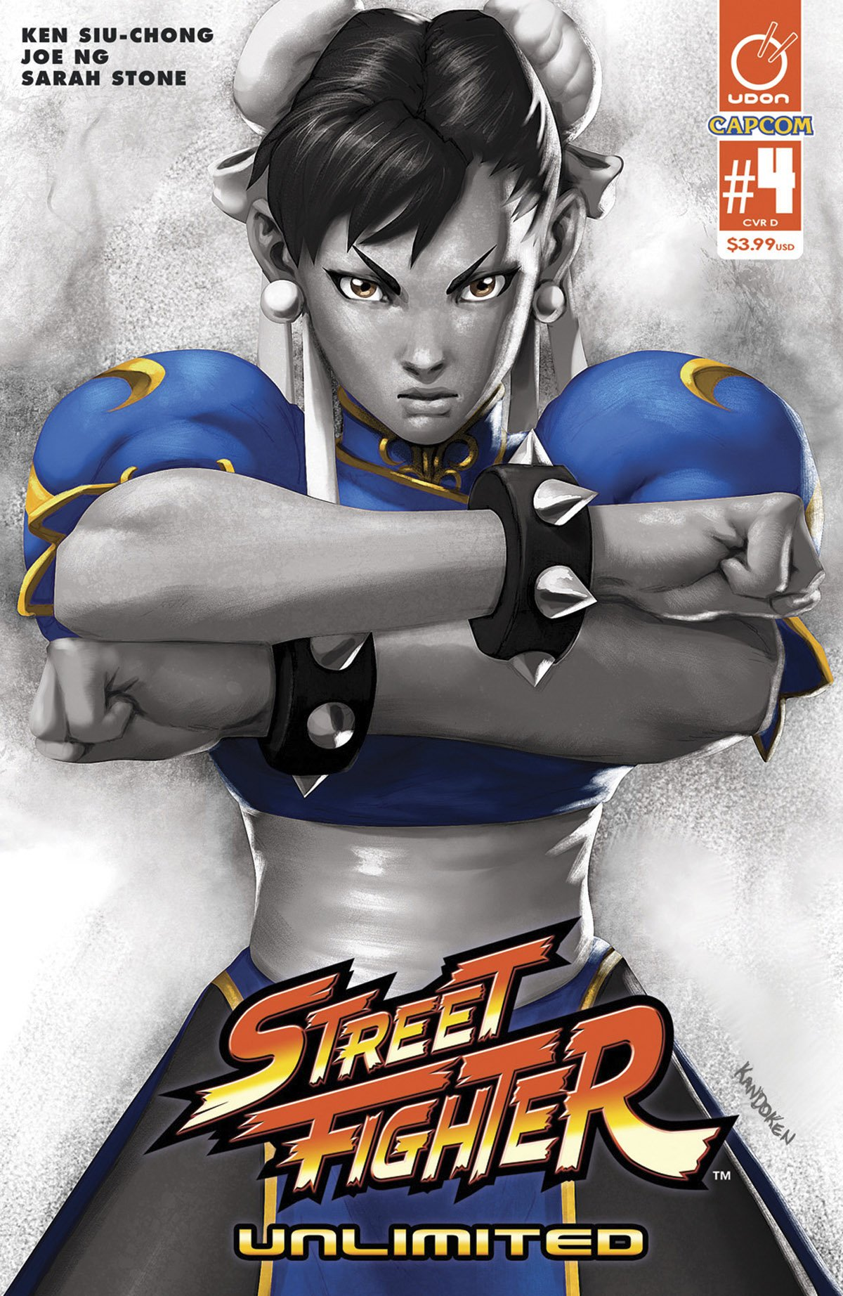 Street Fighter Unlimited 004 (March 2016) (cover D)