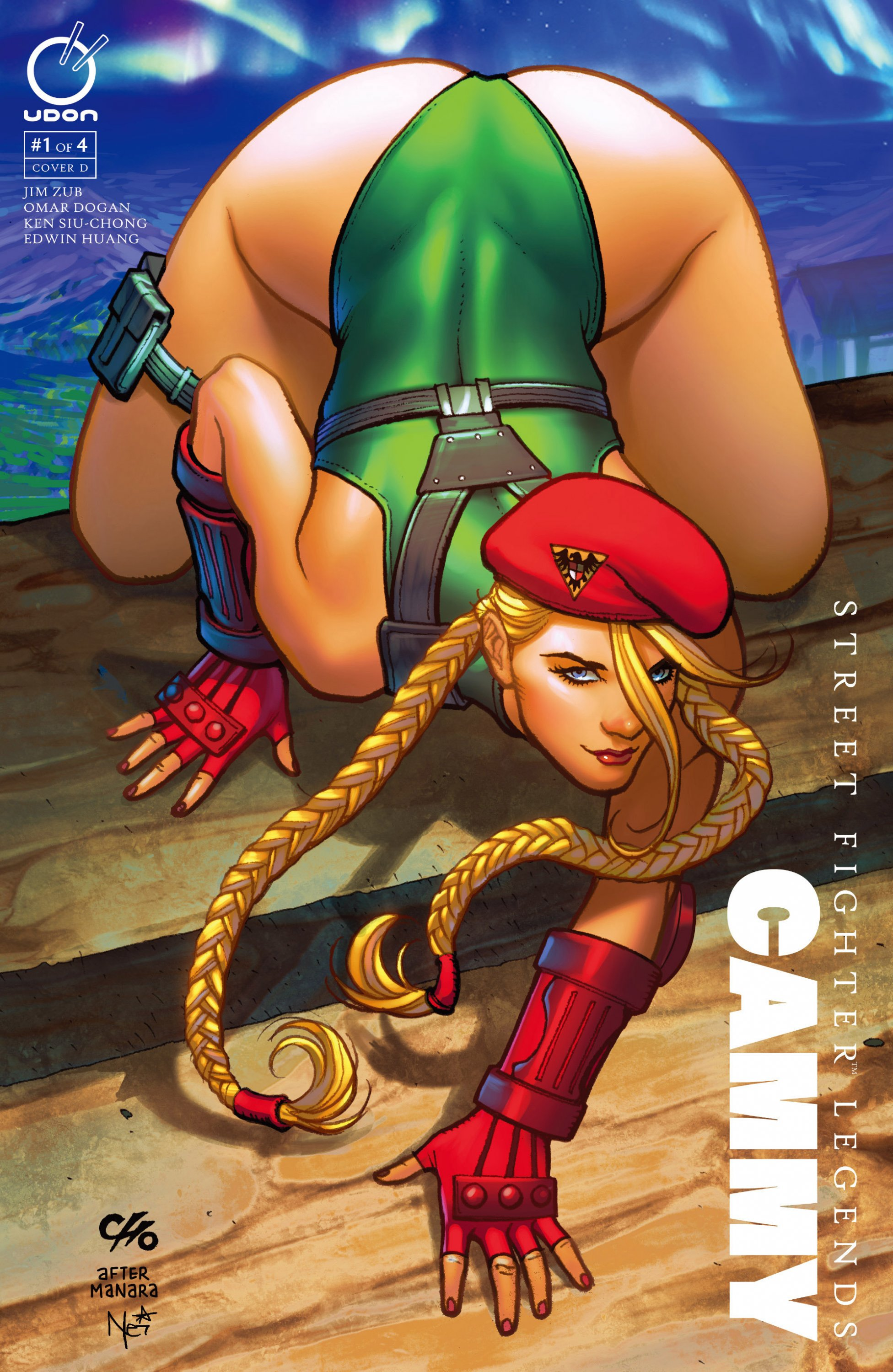 Street Fighter Legends: Cammy 001 (July 2016) (cover D)
