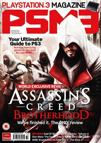 PSM3 Issue 134 (Xmas 2010) *cover 2*