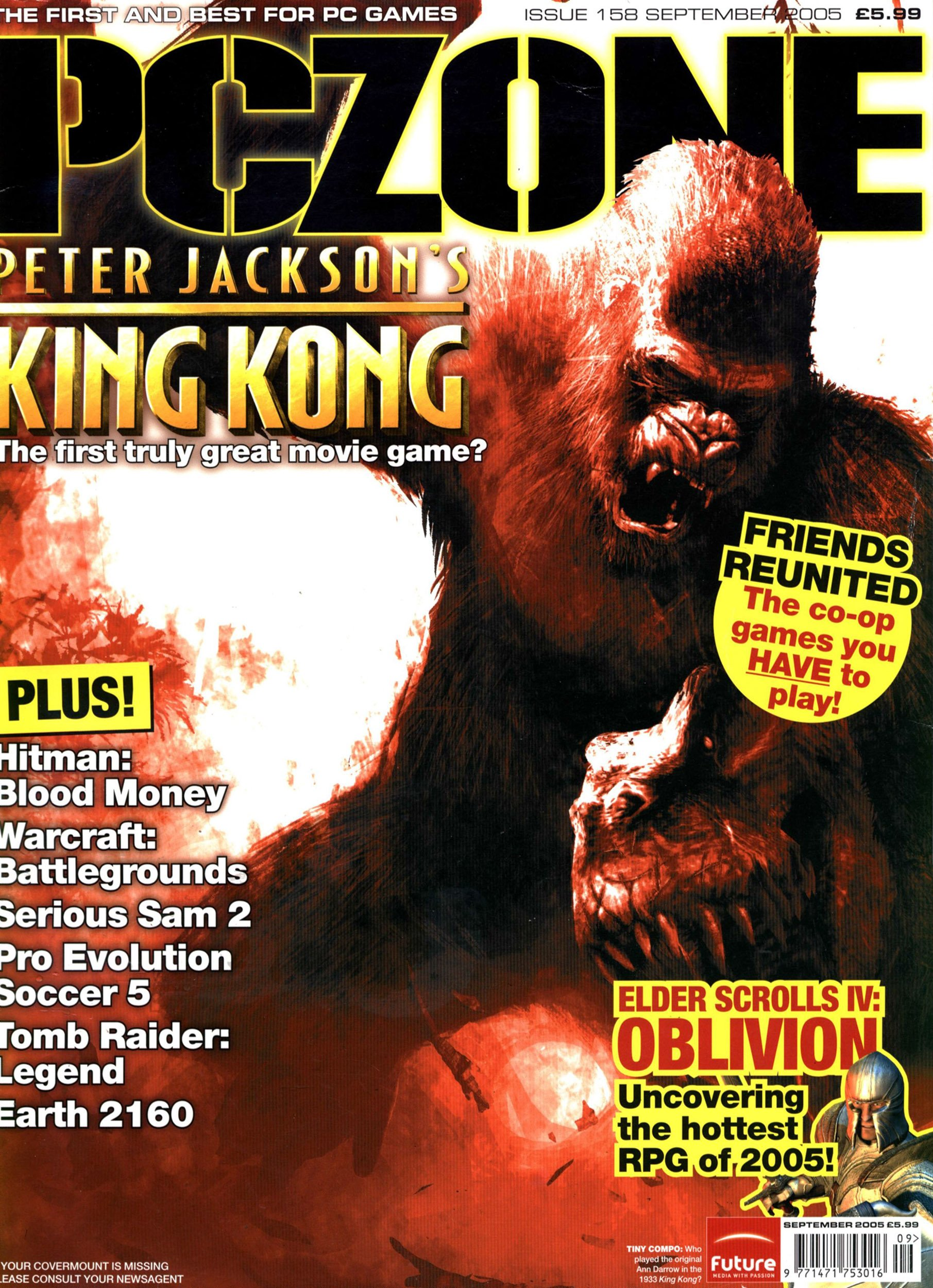 PC Zone Issue 158 (September 2005)
