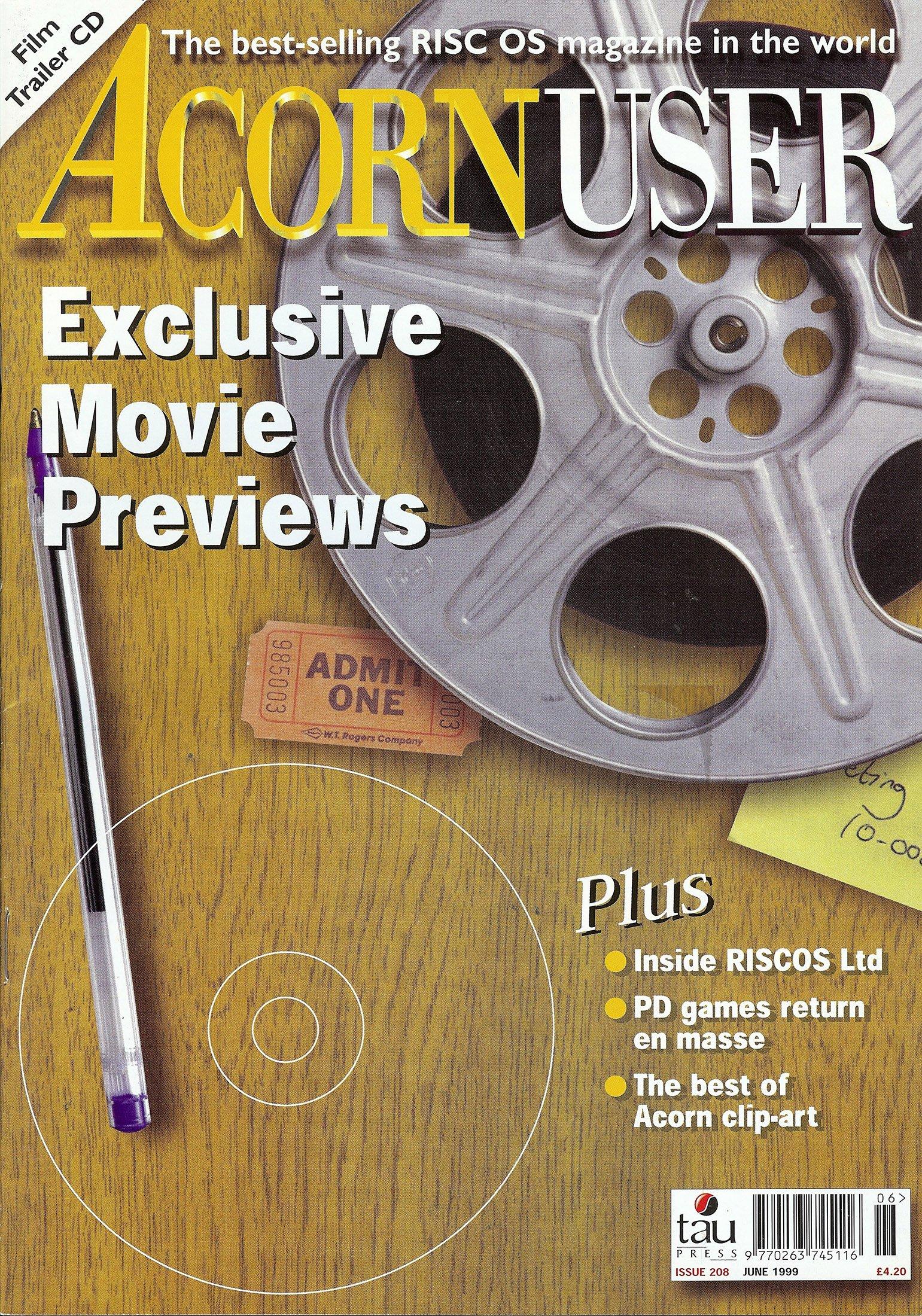 Acorn User 208 (June 1999)