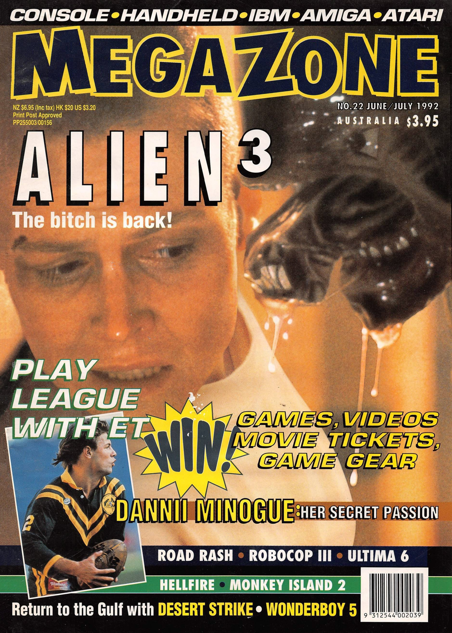 MegaZone 22 (June/July 1992)