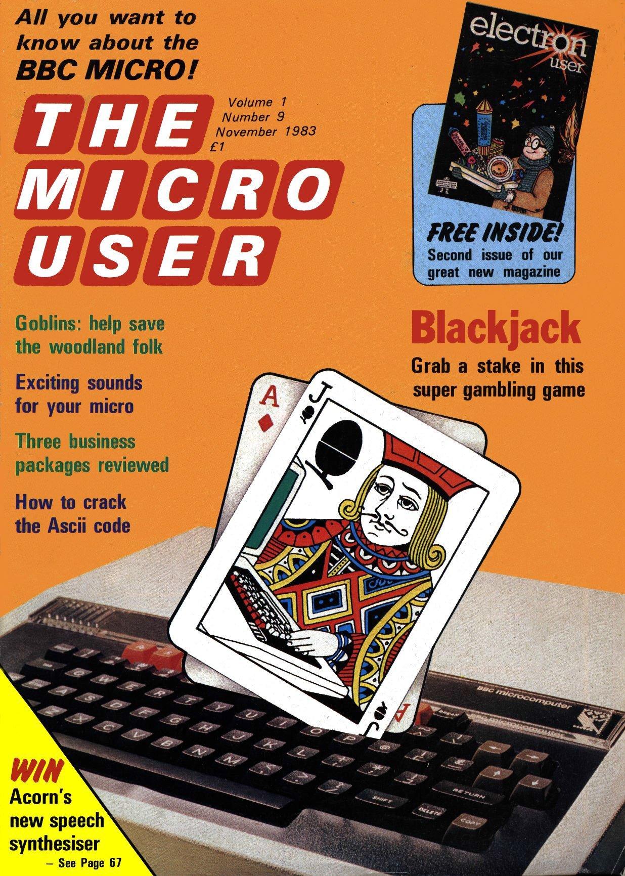 The Micro User Vol.01 No.09 (November 1983)