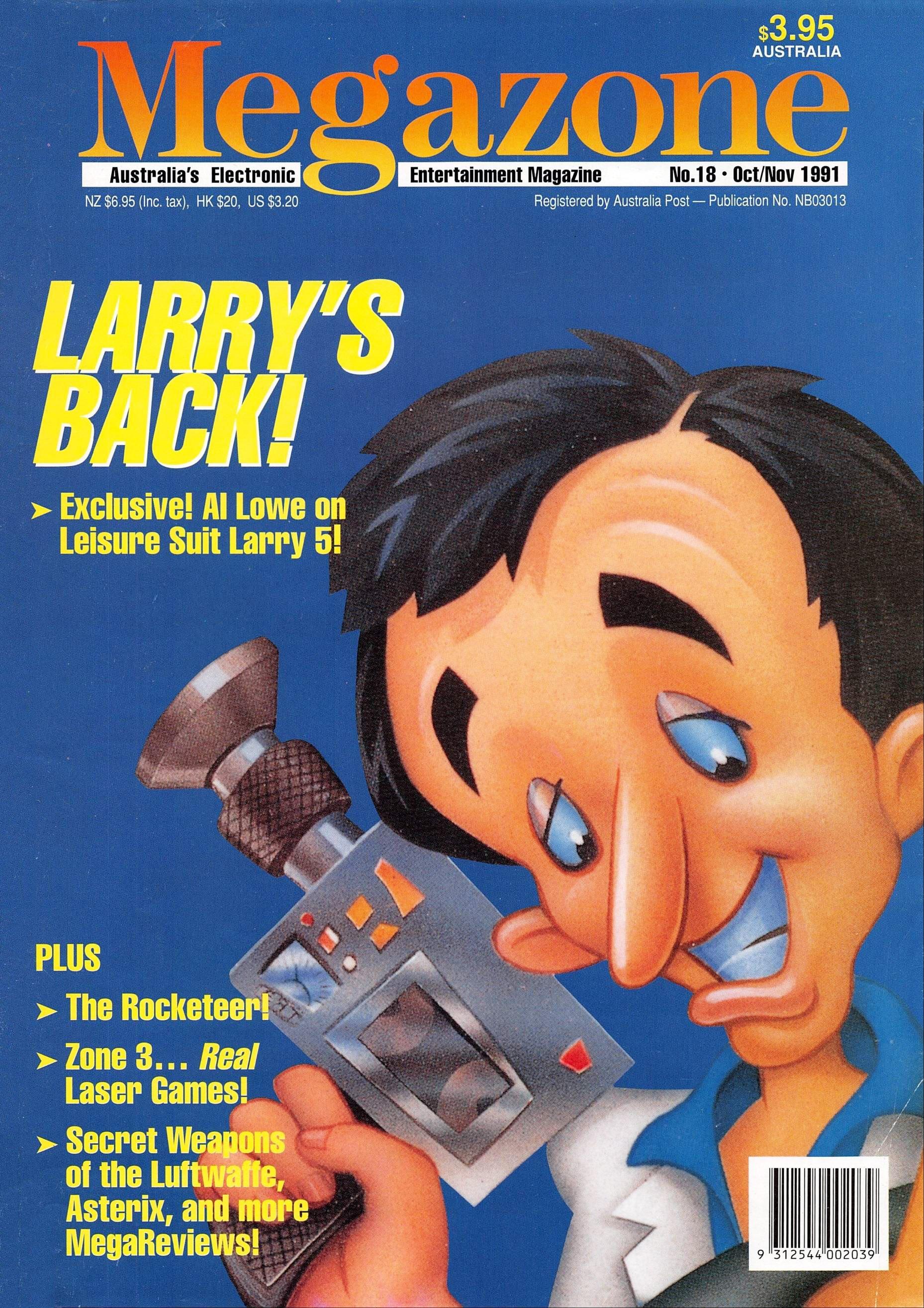 MegaZone 18 (October/November 1991)