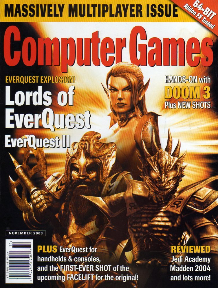 Computer Games Issue 156 (November 2003)