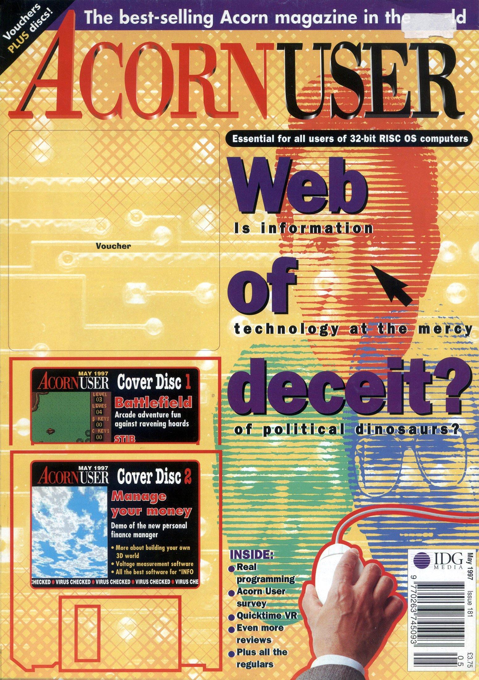 Acorn User 181 (May 1997)