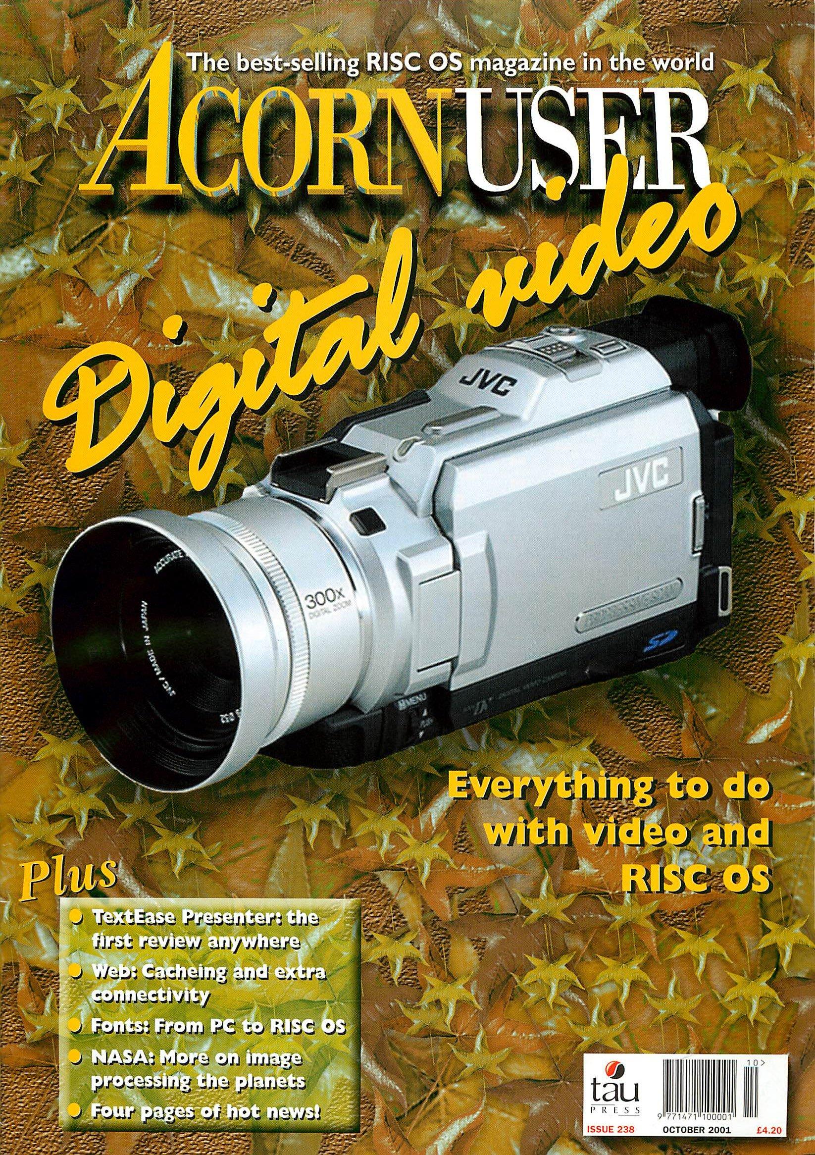 Acorn User 238 (October 2001)