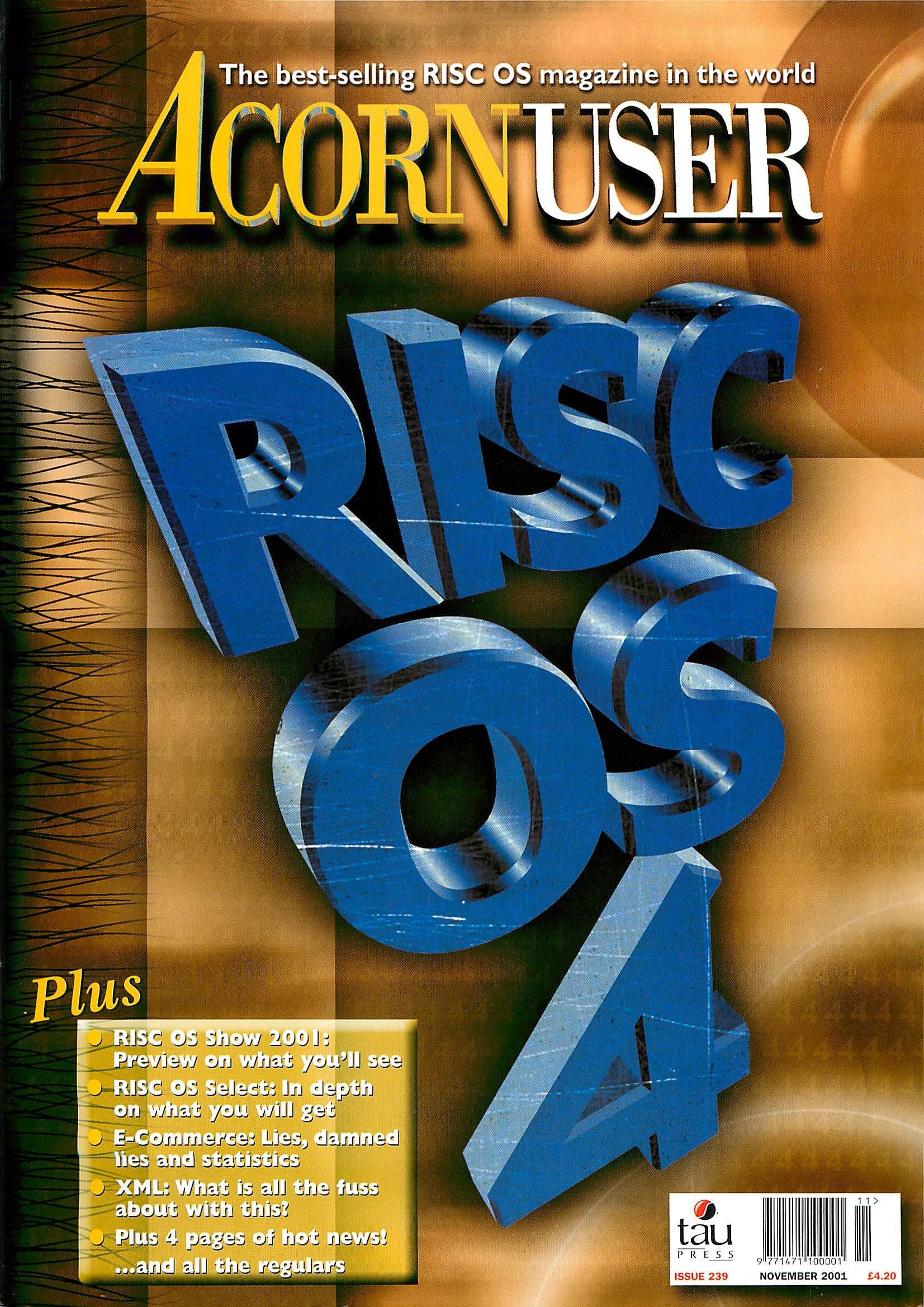 Acorn User 239 (November 2001)