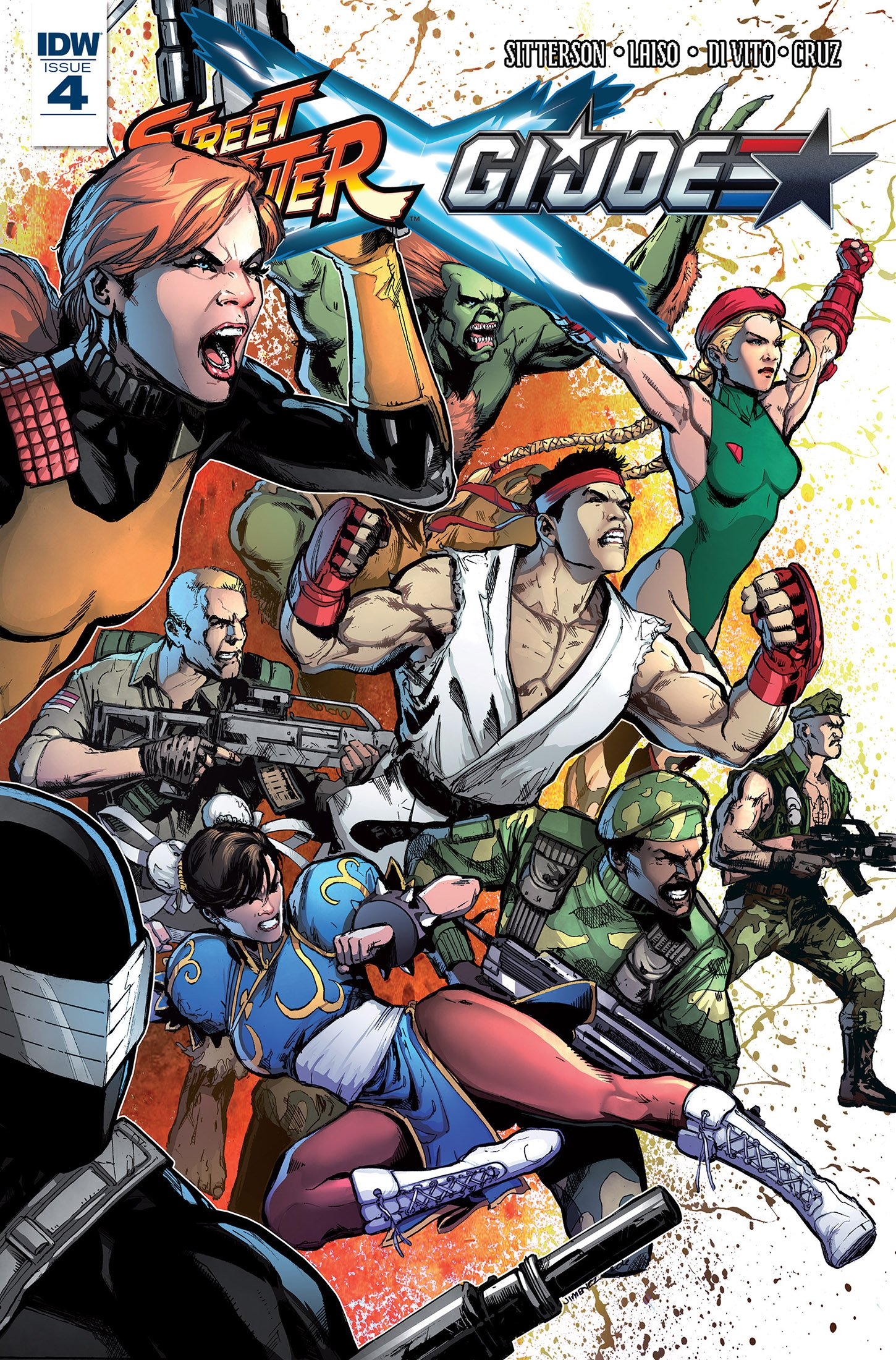 Street Fighter X G.I. JOE 004 (May 2016)