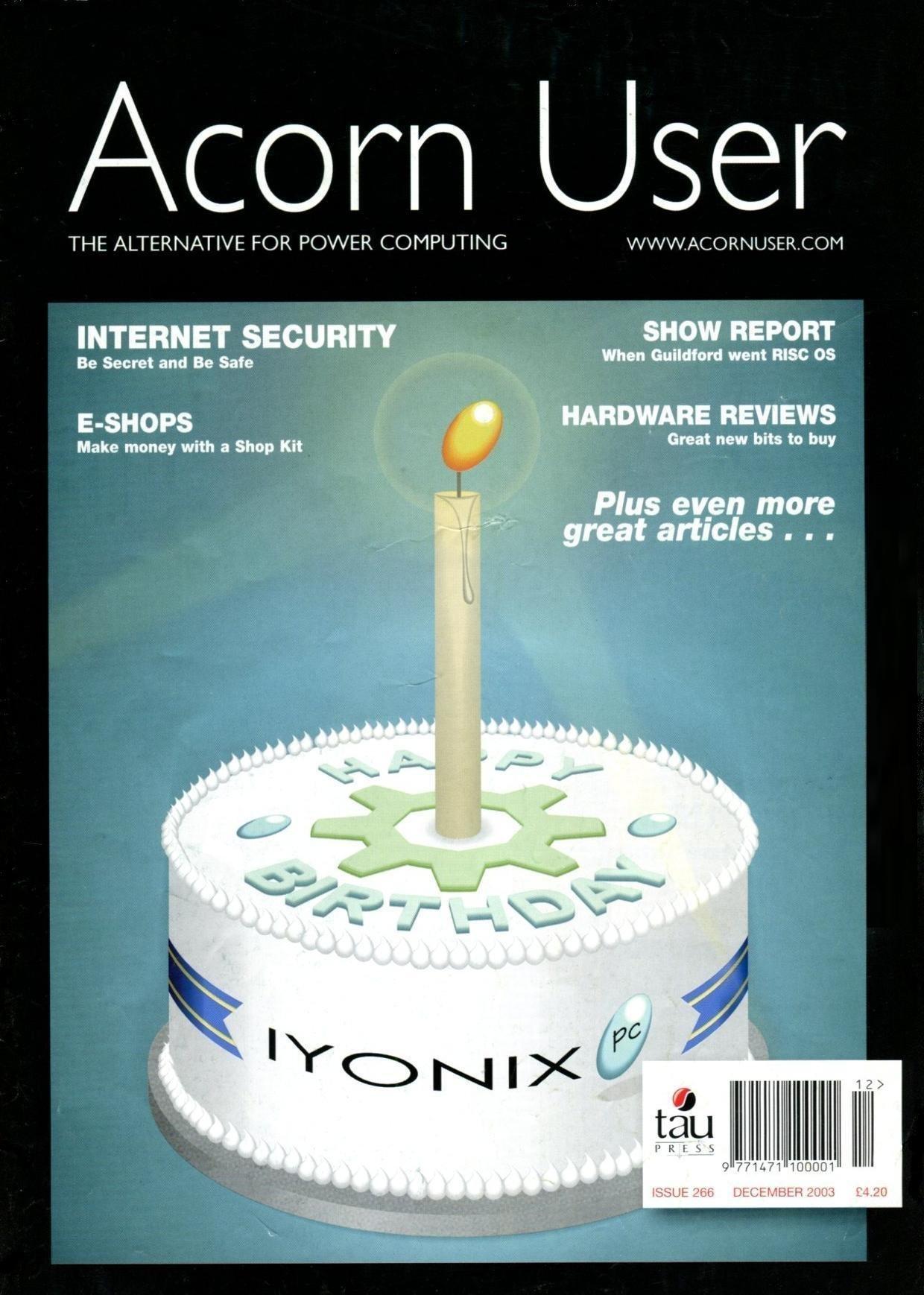 Acorn User 266 (December 2003)