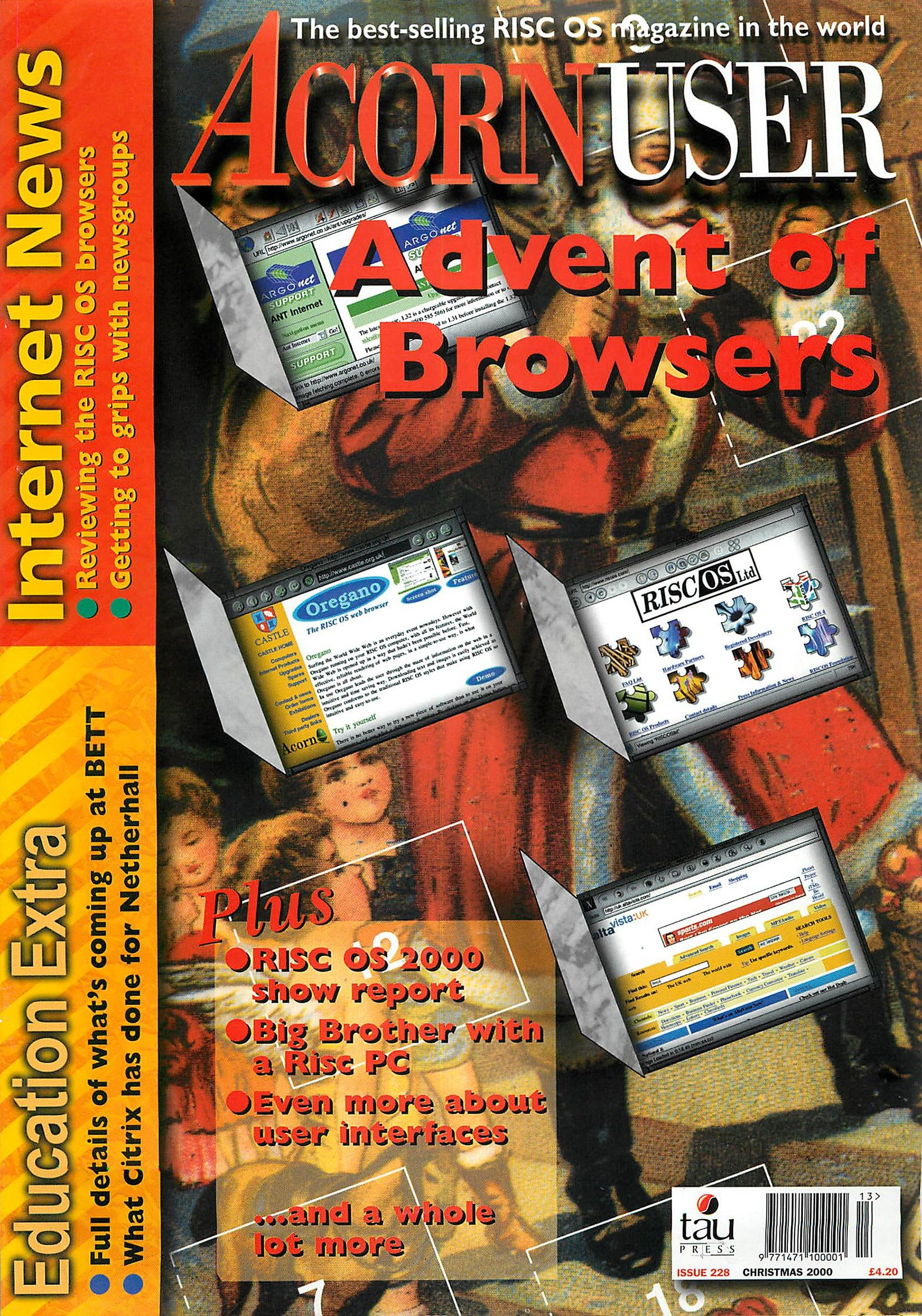Acorn User 228 (Christmas 2000)