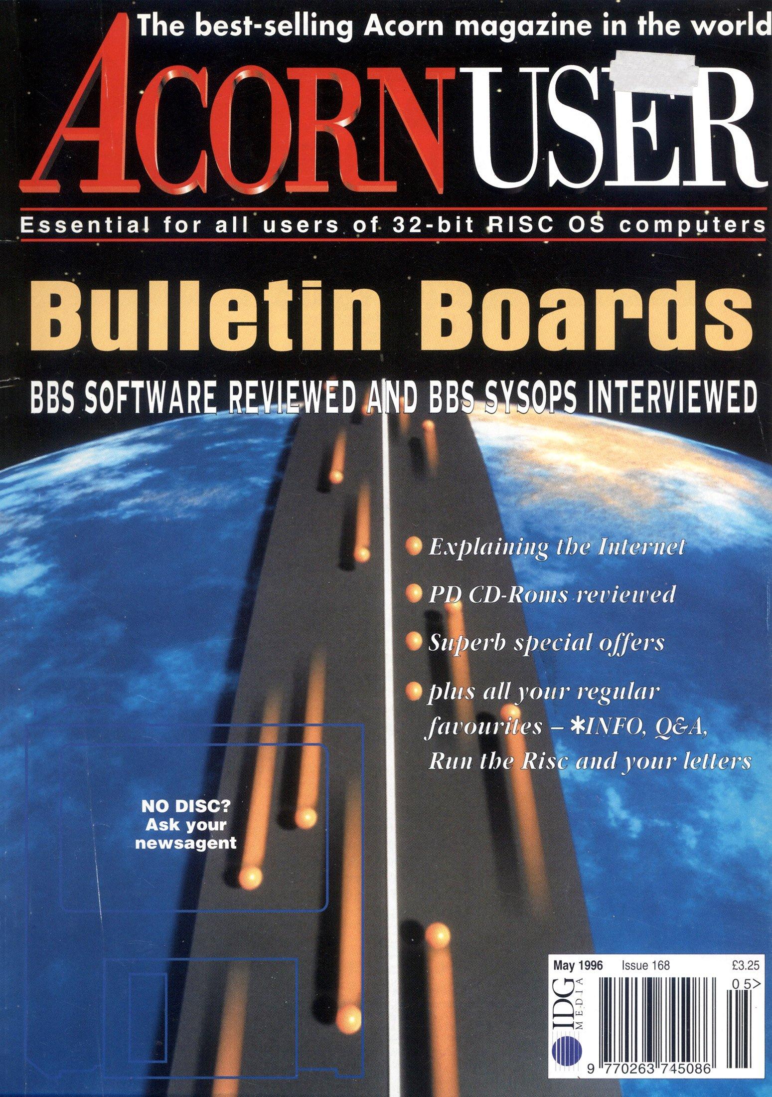 Acorn User 168 (May 1996)