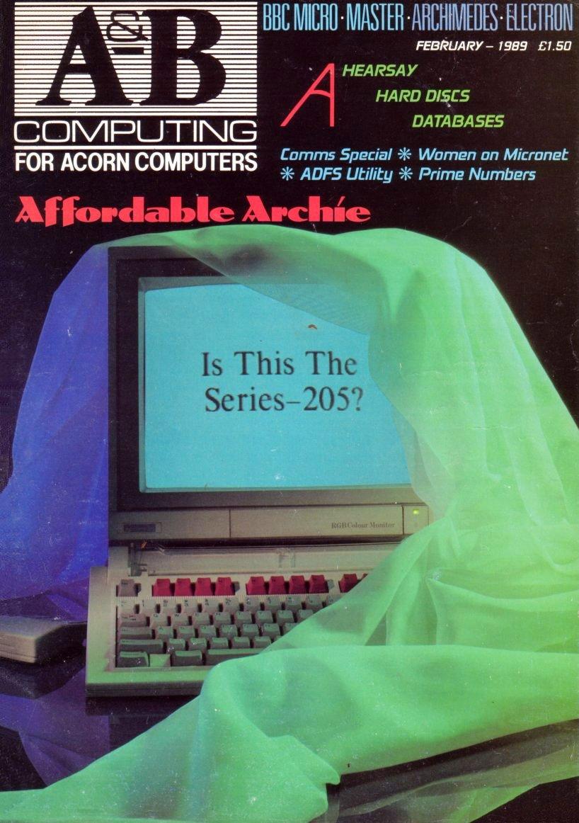 A&B Computing Vol.6 No.02 (February 1989)