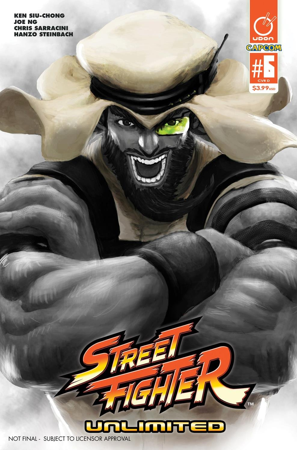 Street Fighter Unlimited 006 (May 2016) (cover D)