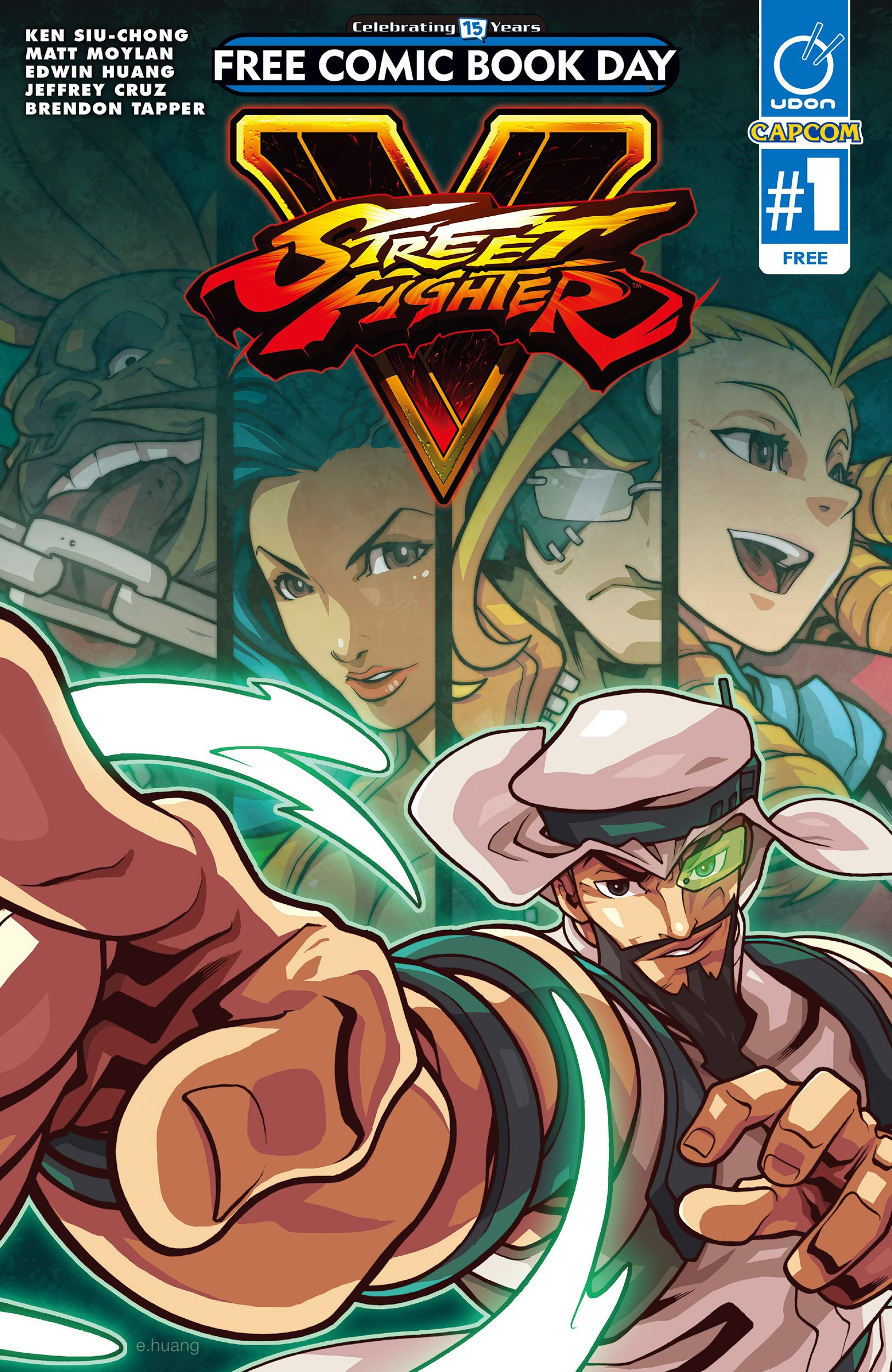 Street Fighter V - Free Comic Book Day 2016 Special (May 2016)