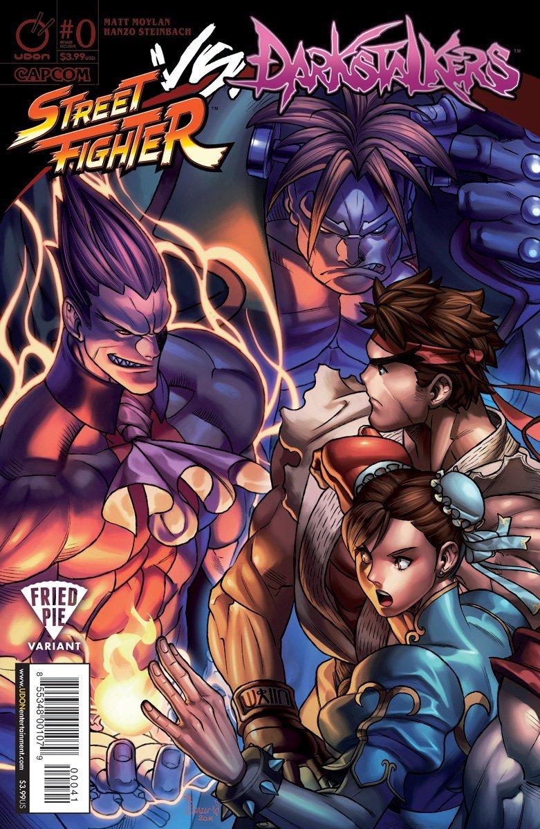 Street Fighter VS Darkstalkers 000 (February 2017) (Fried Pie variant)