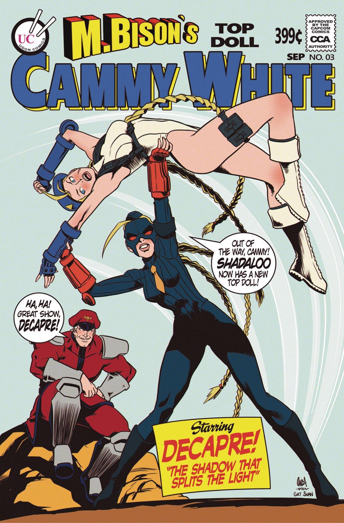 Street Fighter Legends: Cammy 003 (September 2016) (cover C)
