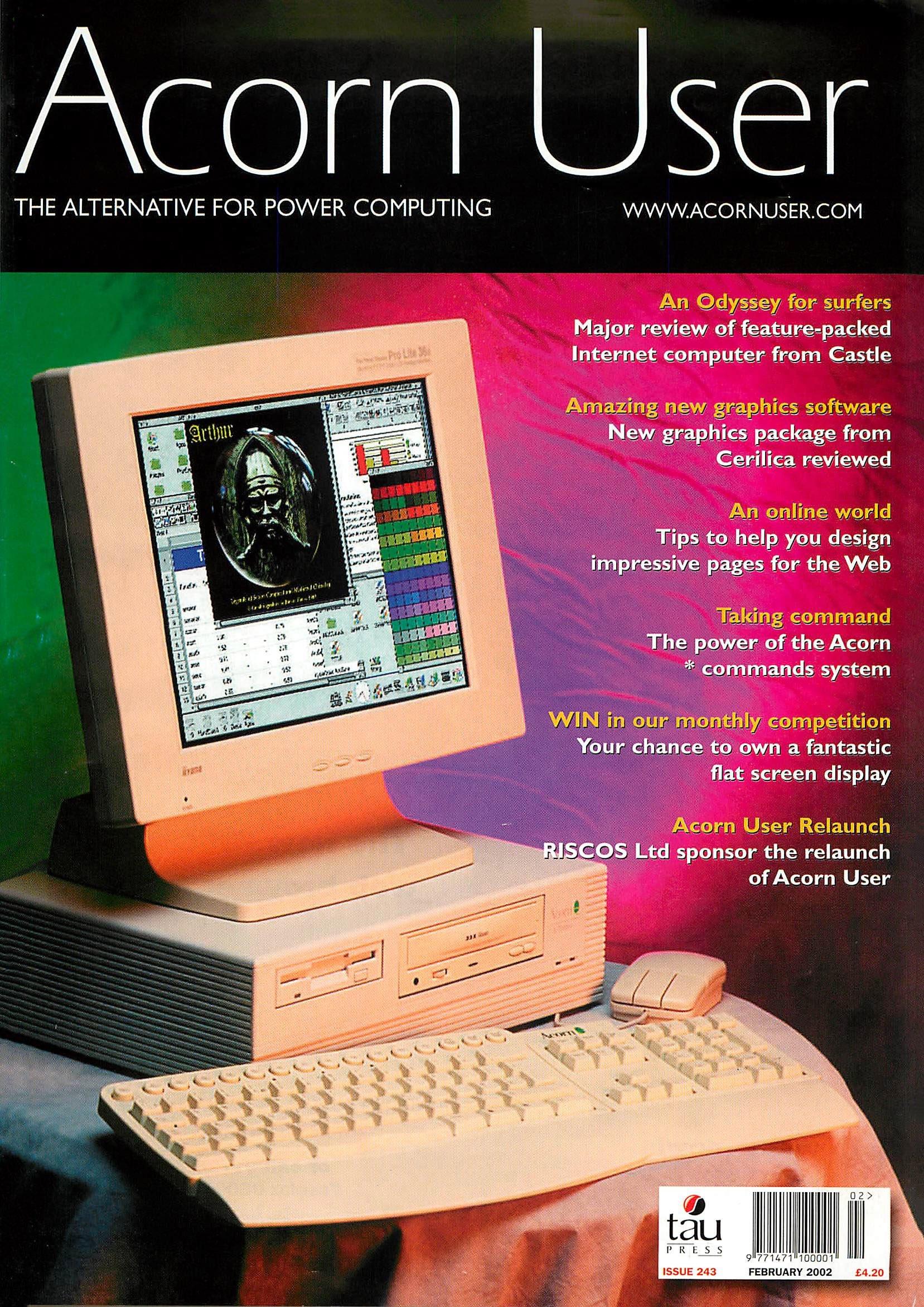 Acorn User 243 (February 2001)