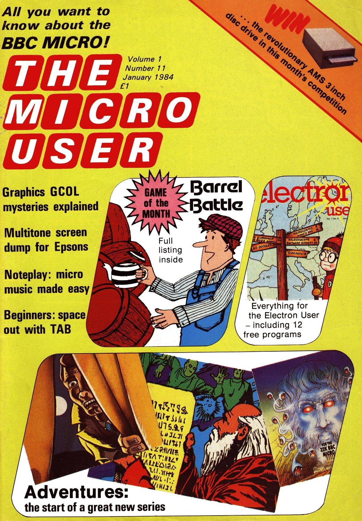 The Micro User Vol.01 No.11 (January 1984)