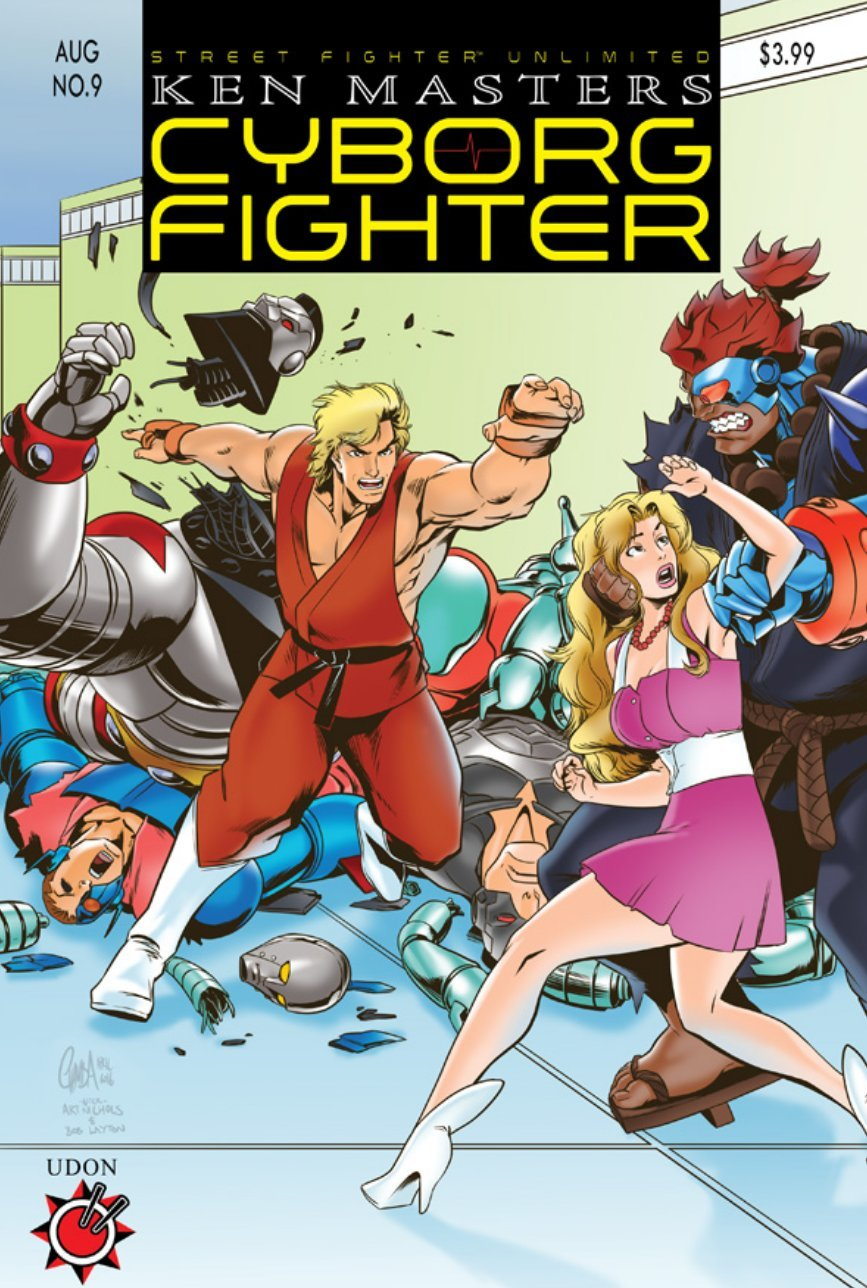 Street Fighter Unlimited 009 (August 2016) (cover C)