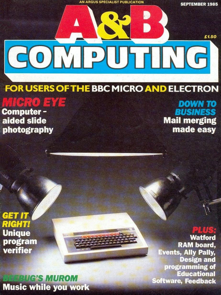 A&B Computing Vol.2 No.09 (September 1985)