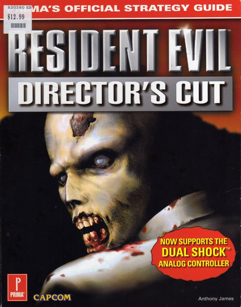 Resident Evil: Director's Cut (Dual Shock) Official Strategy Guide