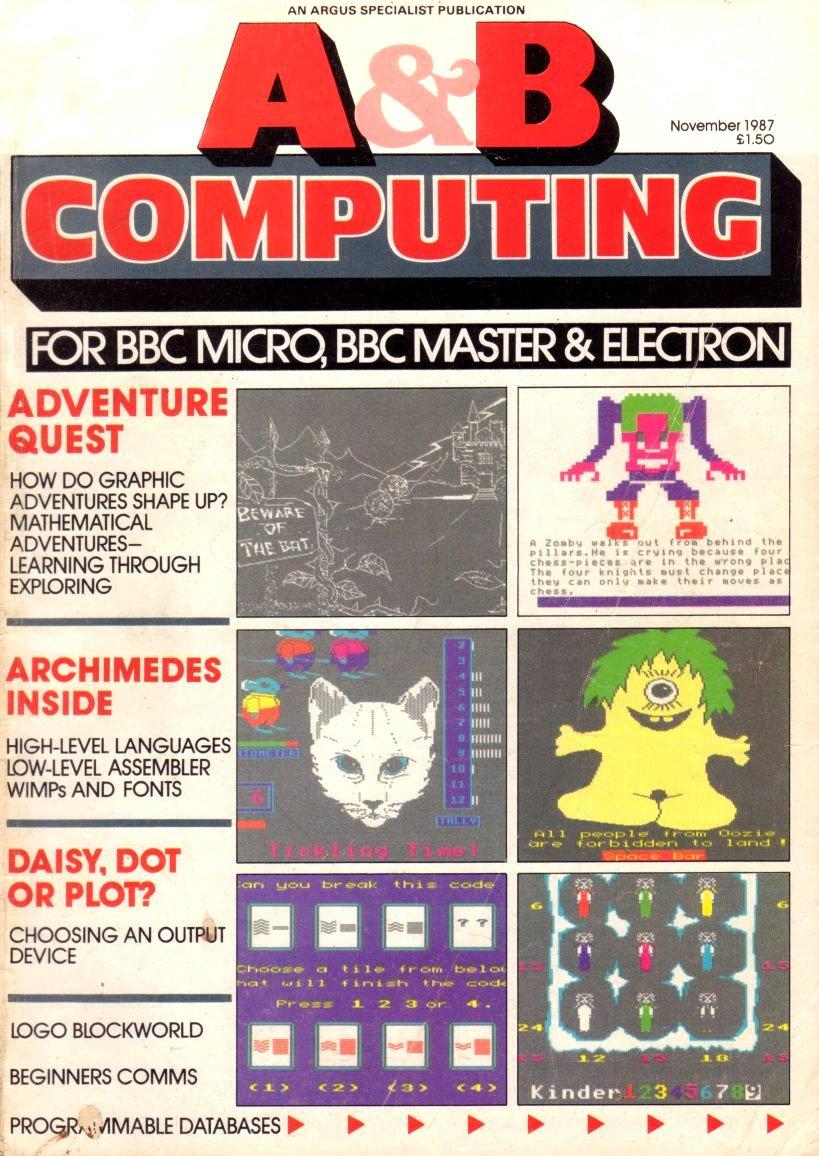 A&B Computing Vol.4 No.11 (November 1987)