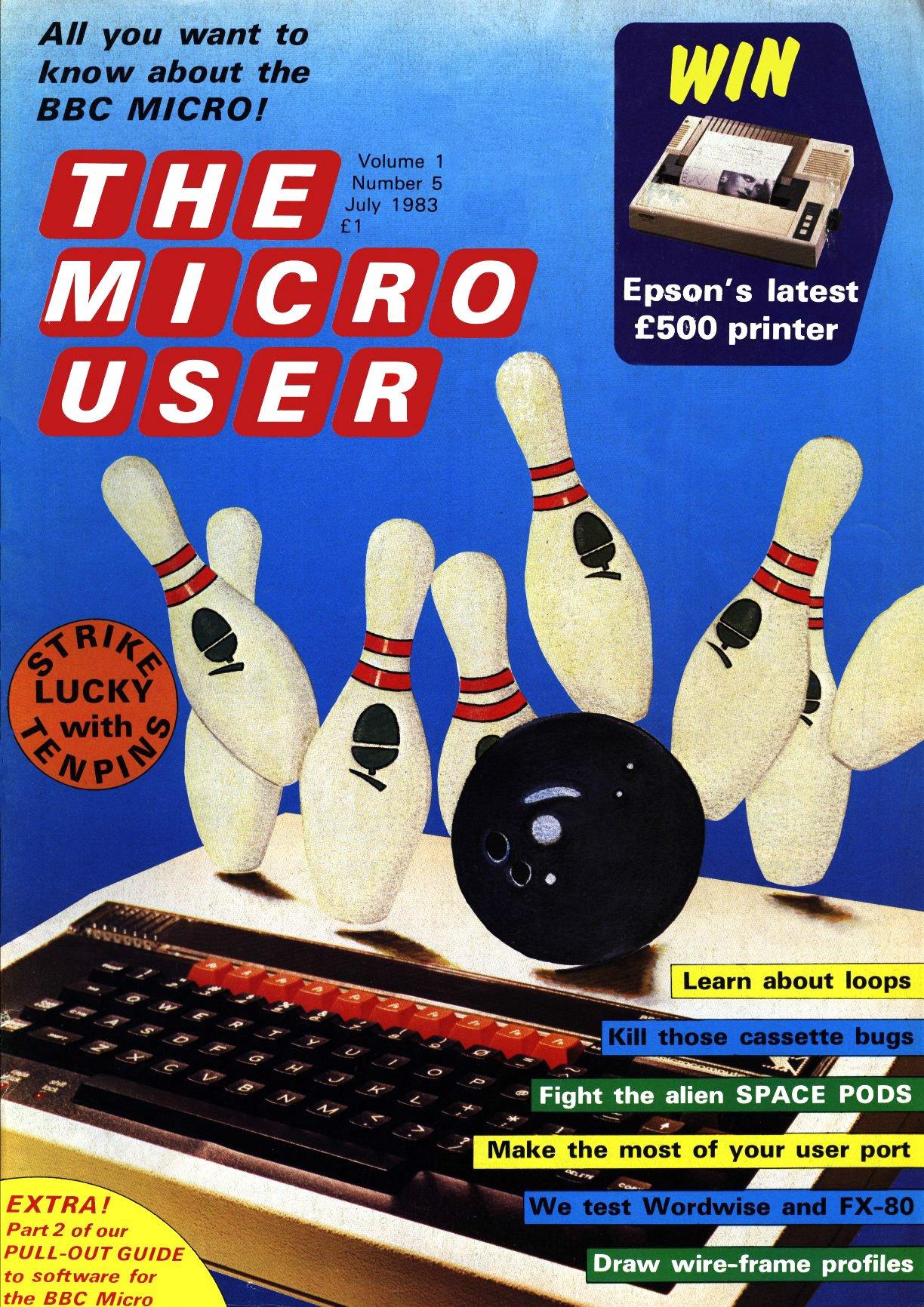 The Micro User Vol.01 No.05 (July 1983)