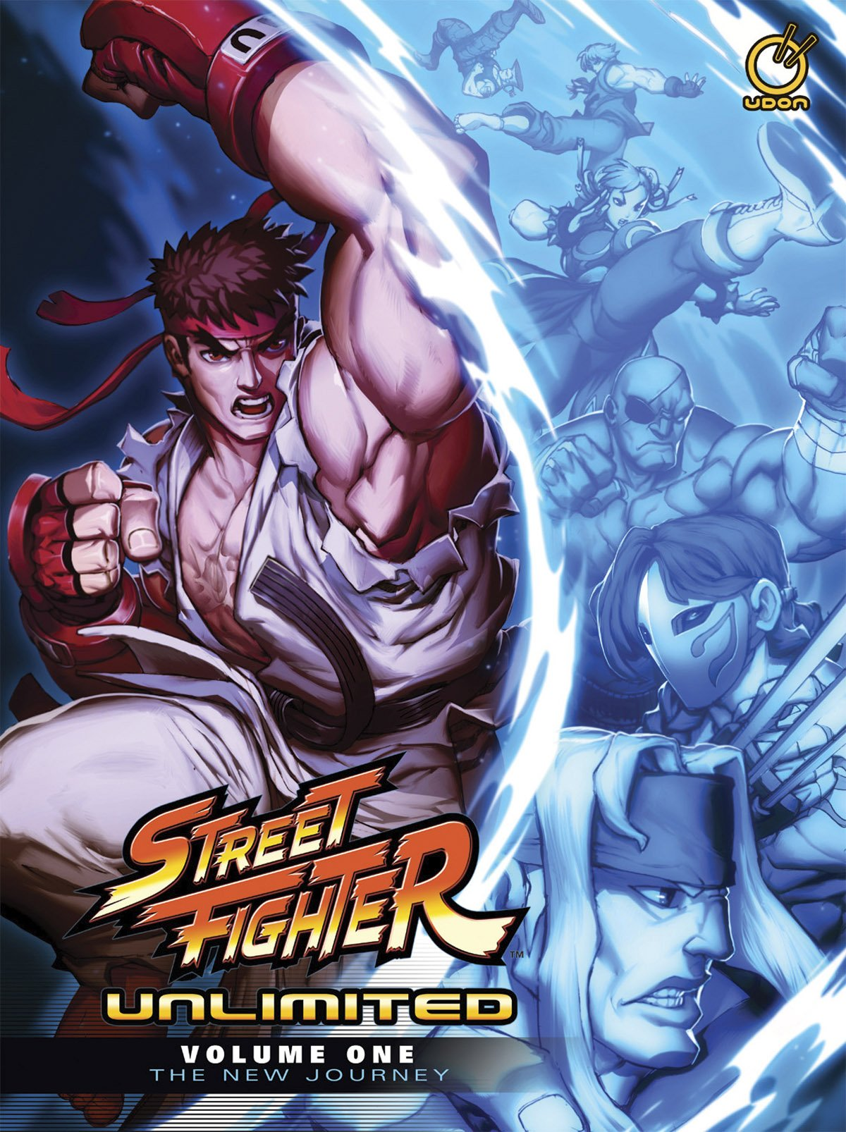 Street Fighter Unlimited HC Volume 1: The New Journey