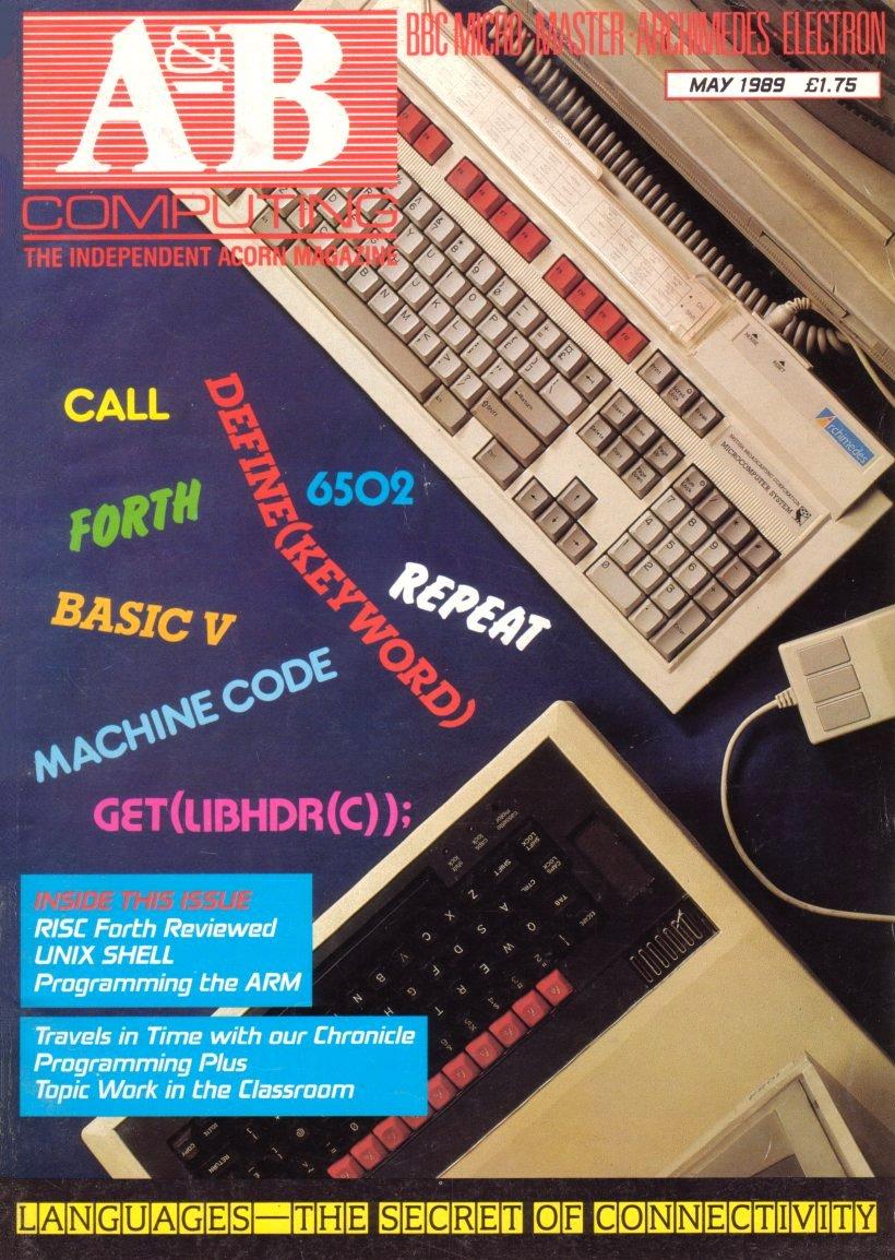 A&B Computing Vol.6 No.05 (May 1989)