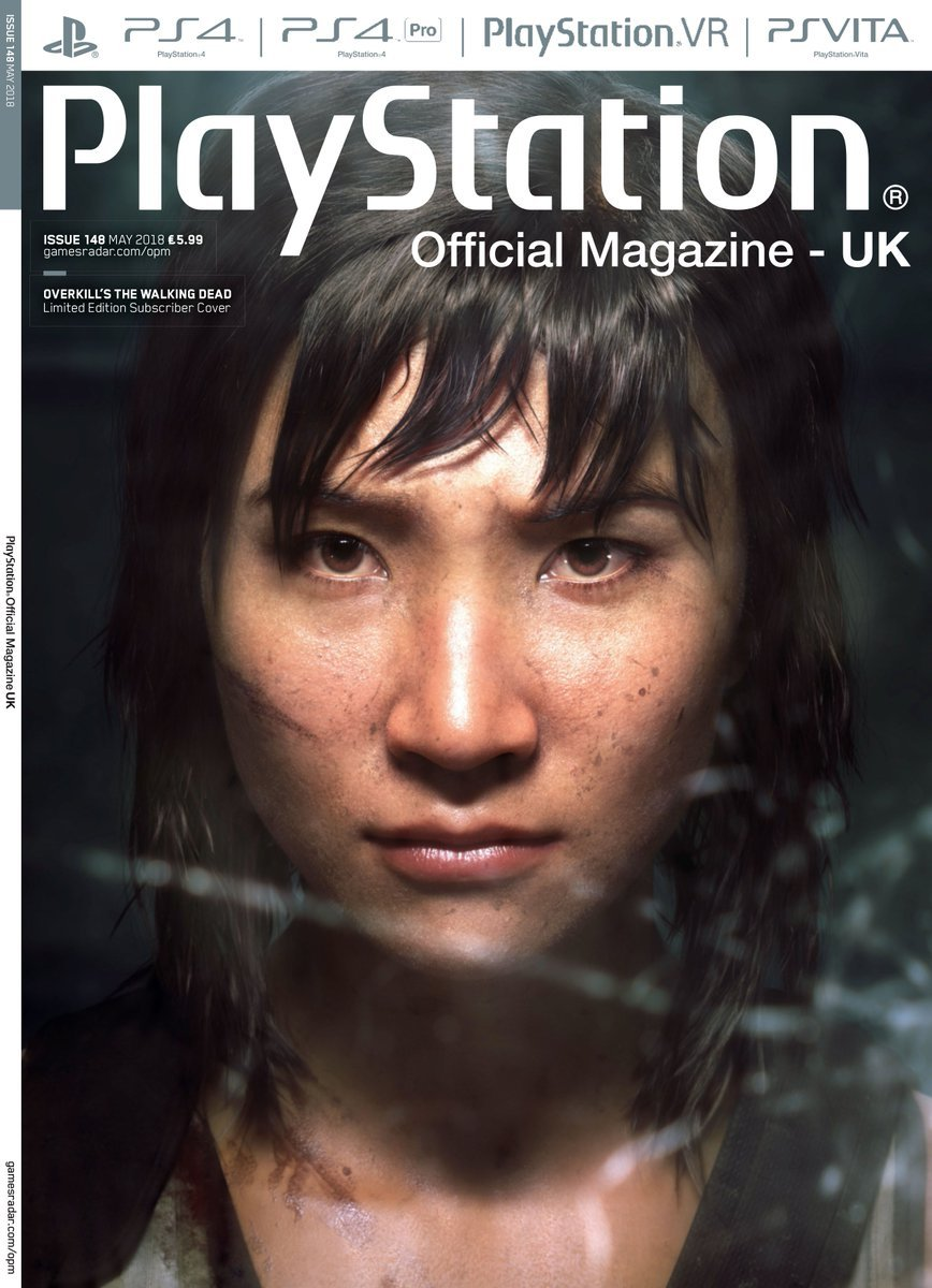 Playstation Official Magazine UK 148 (May 2018) (subscriber edition)