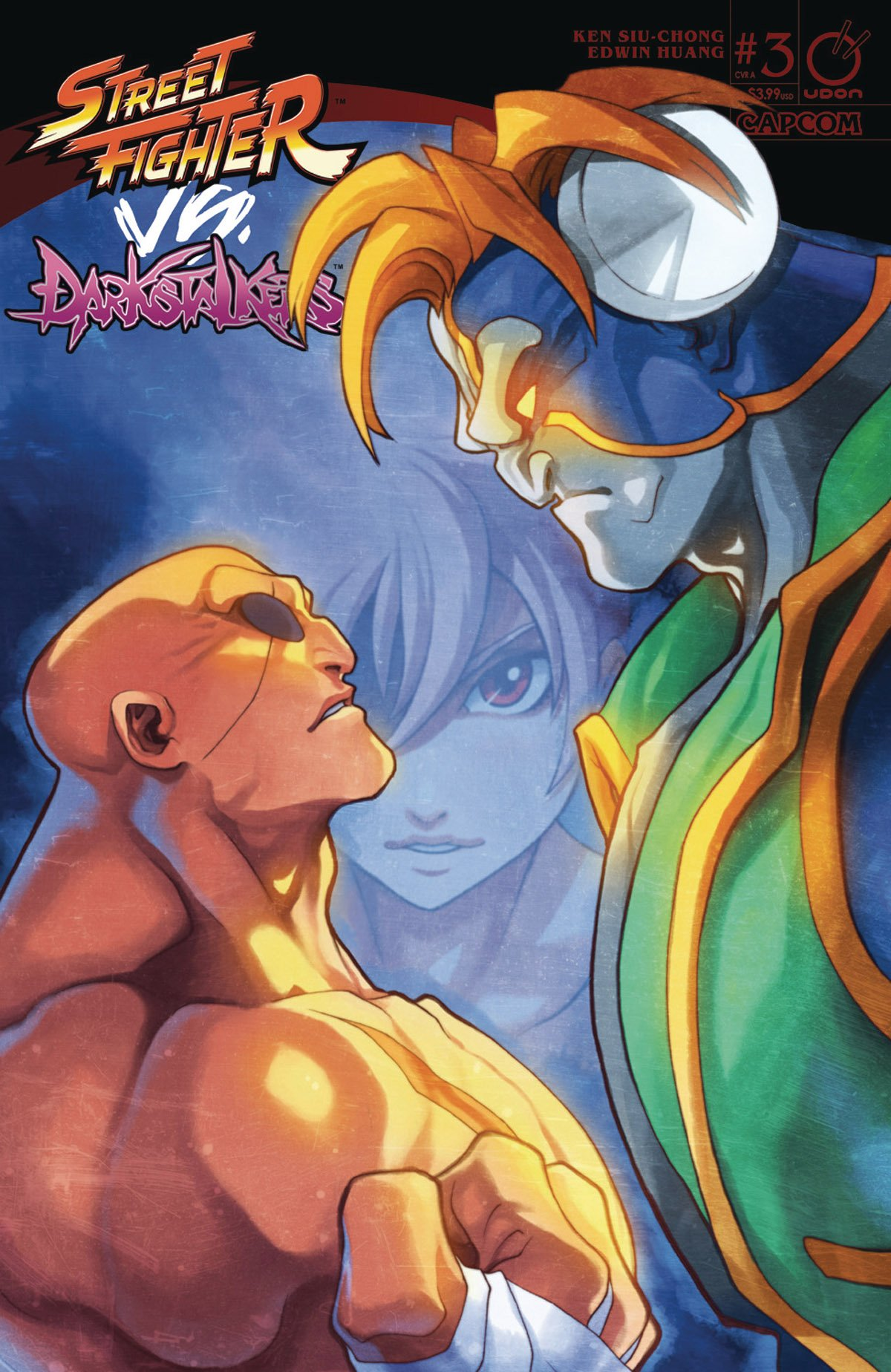 Street Fighter VS Darkstalkers 003 (June 2017) (cover A)