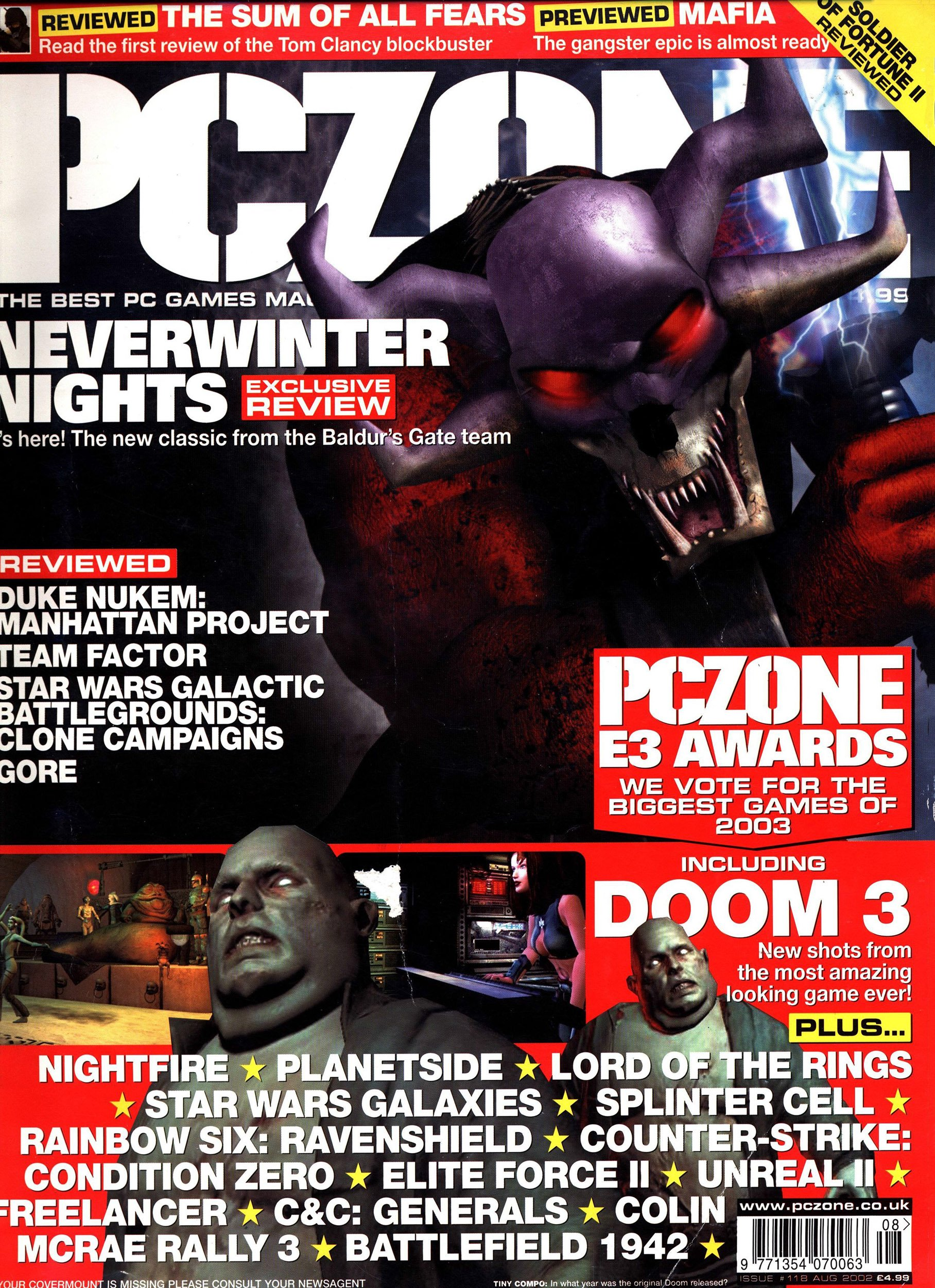 PC Zone Issue 118 (August 2002)