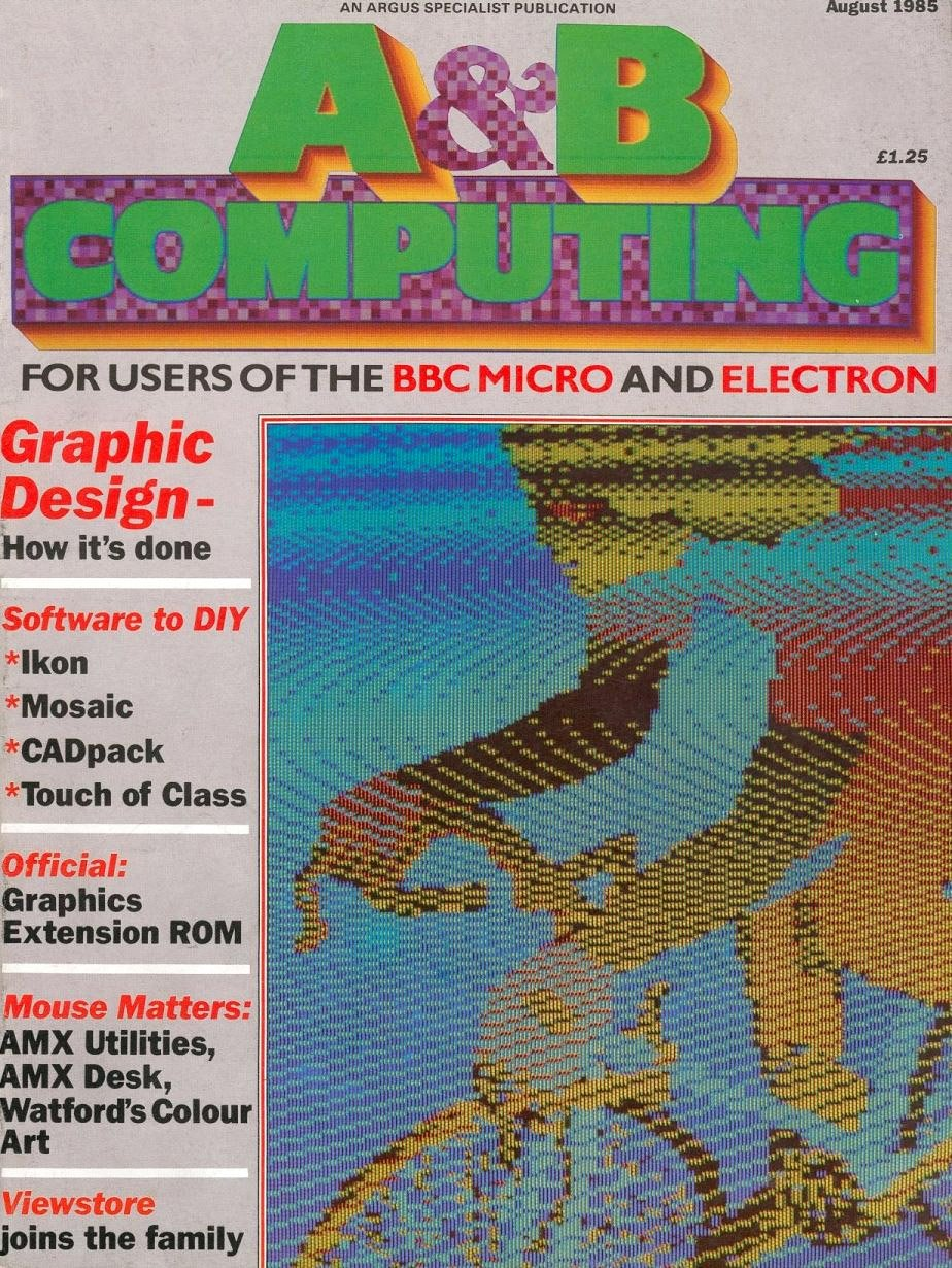 A&B Computing Vol.2 No.08 (August 1985)