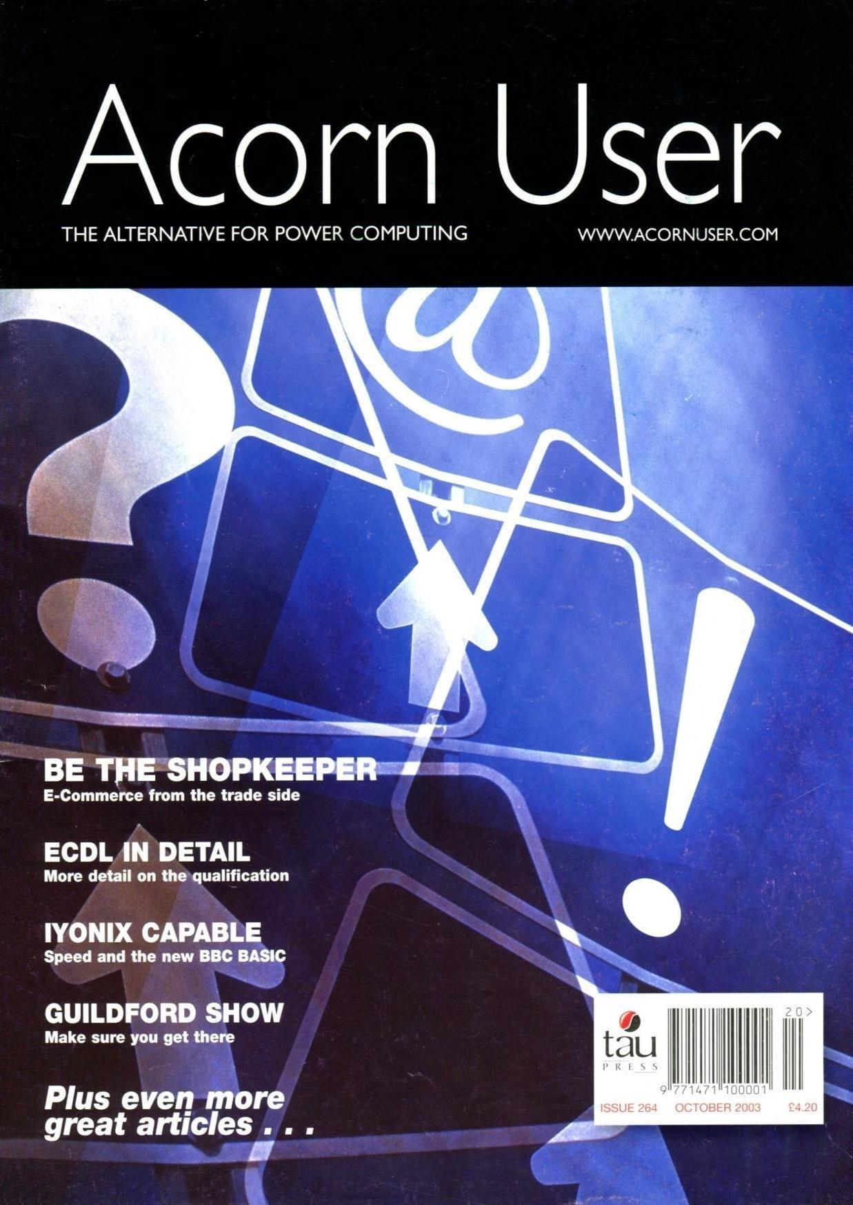Acorn User 264 (October 2003)