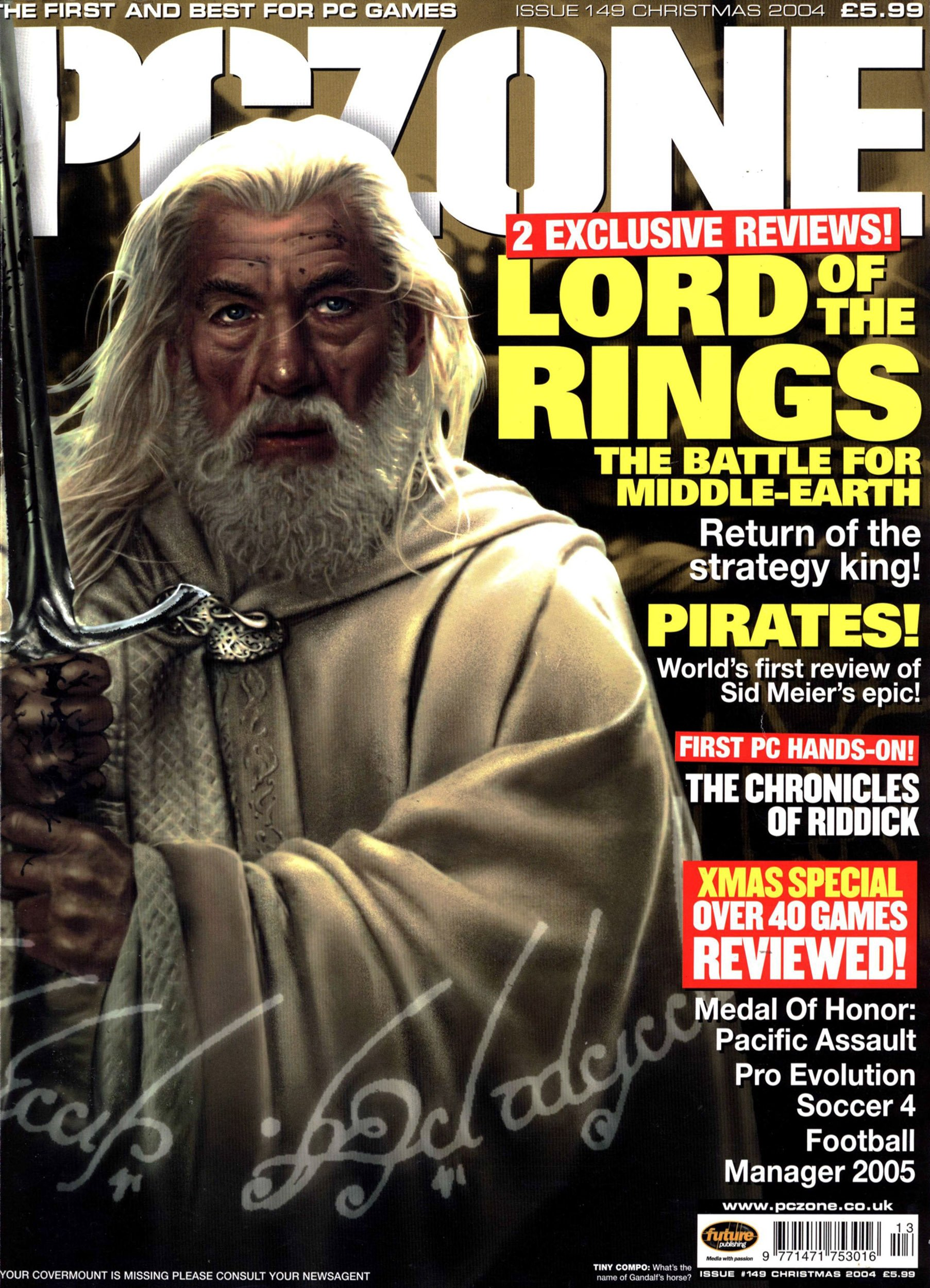 PC Zone Issue 149 (Christmas 2004)