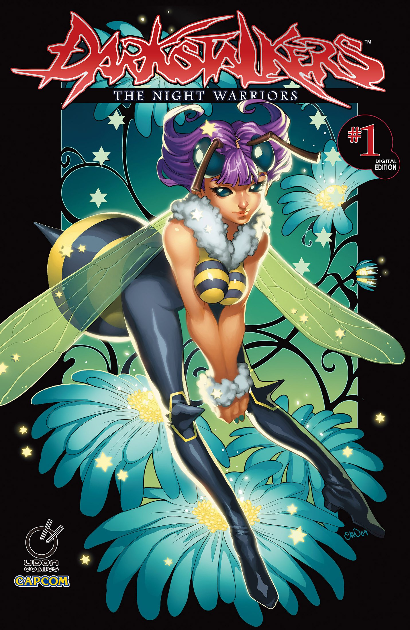 Darkstalkers: The Night Warriors 001 (February 2010) (Cover B)