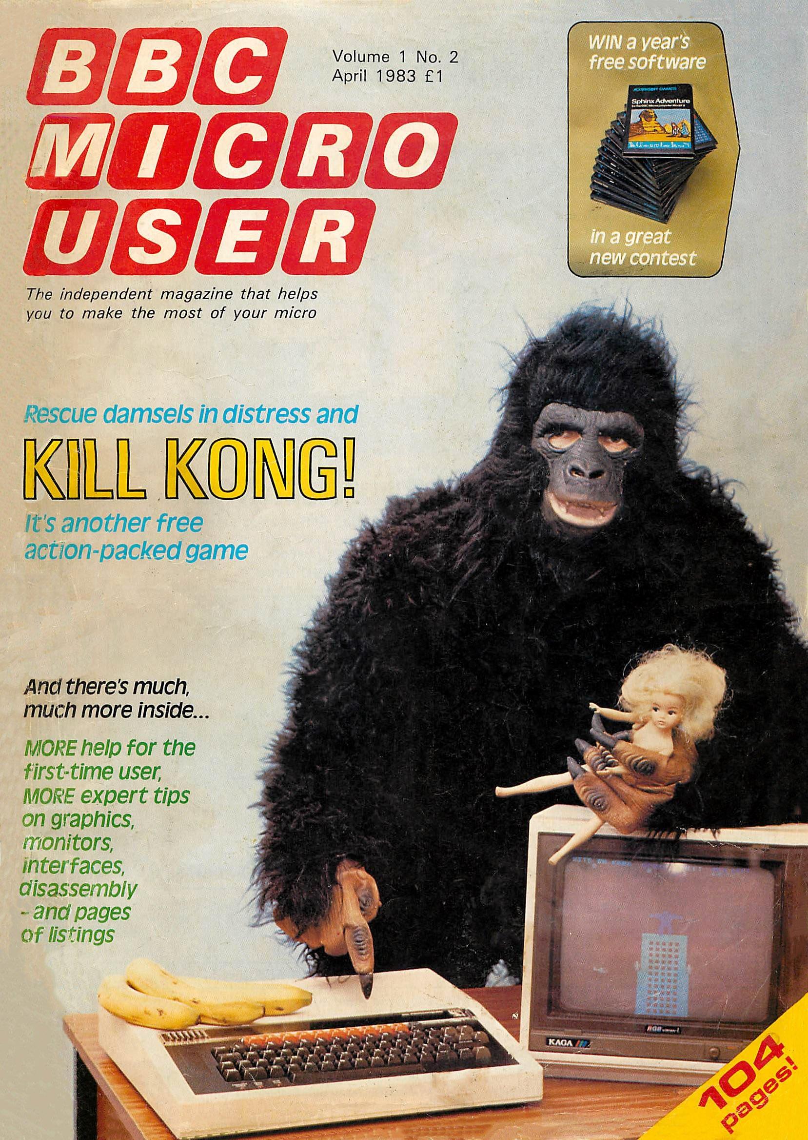 BBC Micro User Vol.01 No.02 (April 1983)