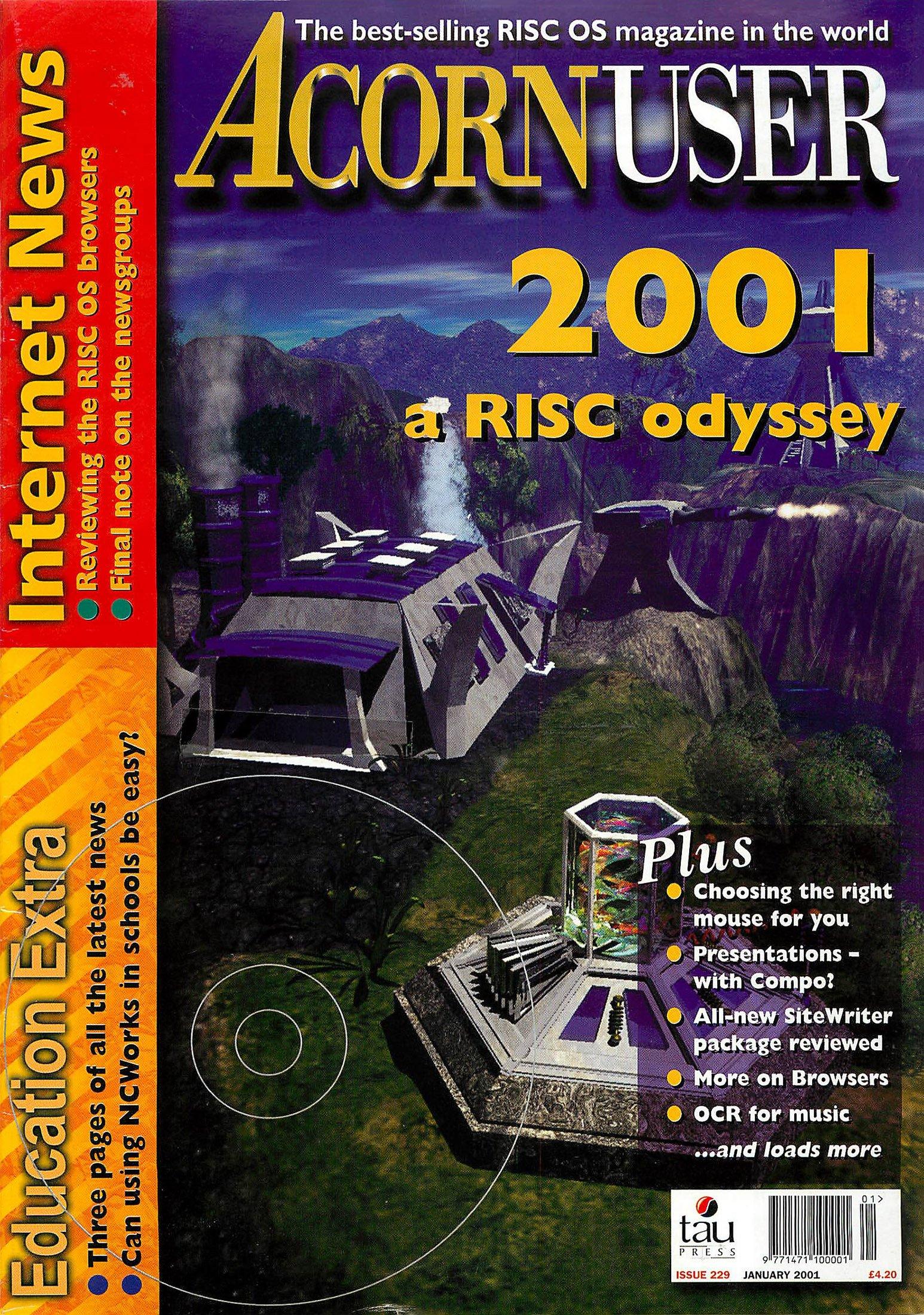 Acorn User 229 (January 2001)