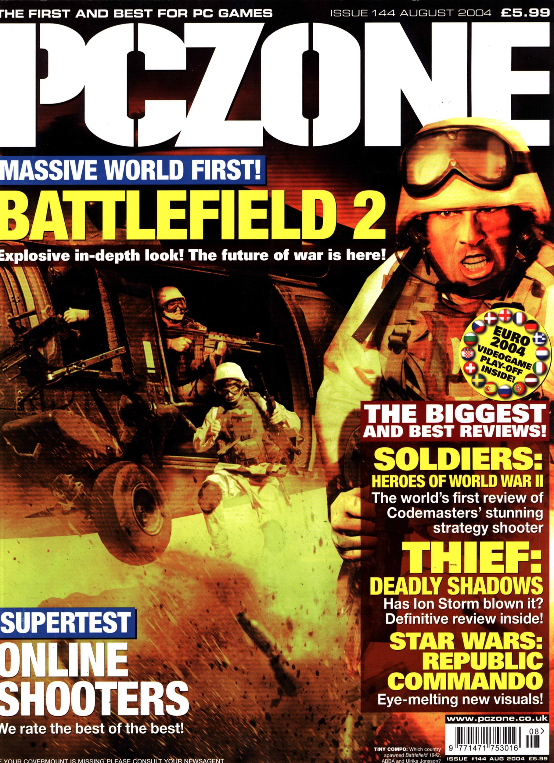 PC Zone Issue 144 (August 2004)
