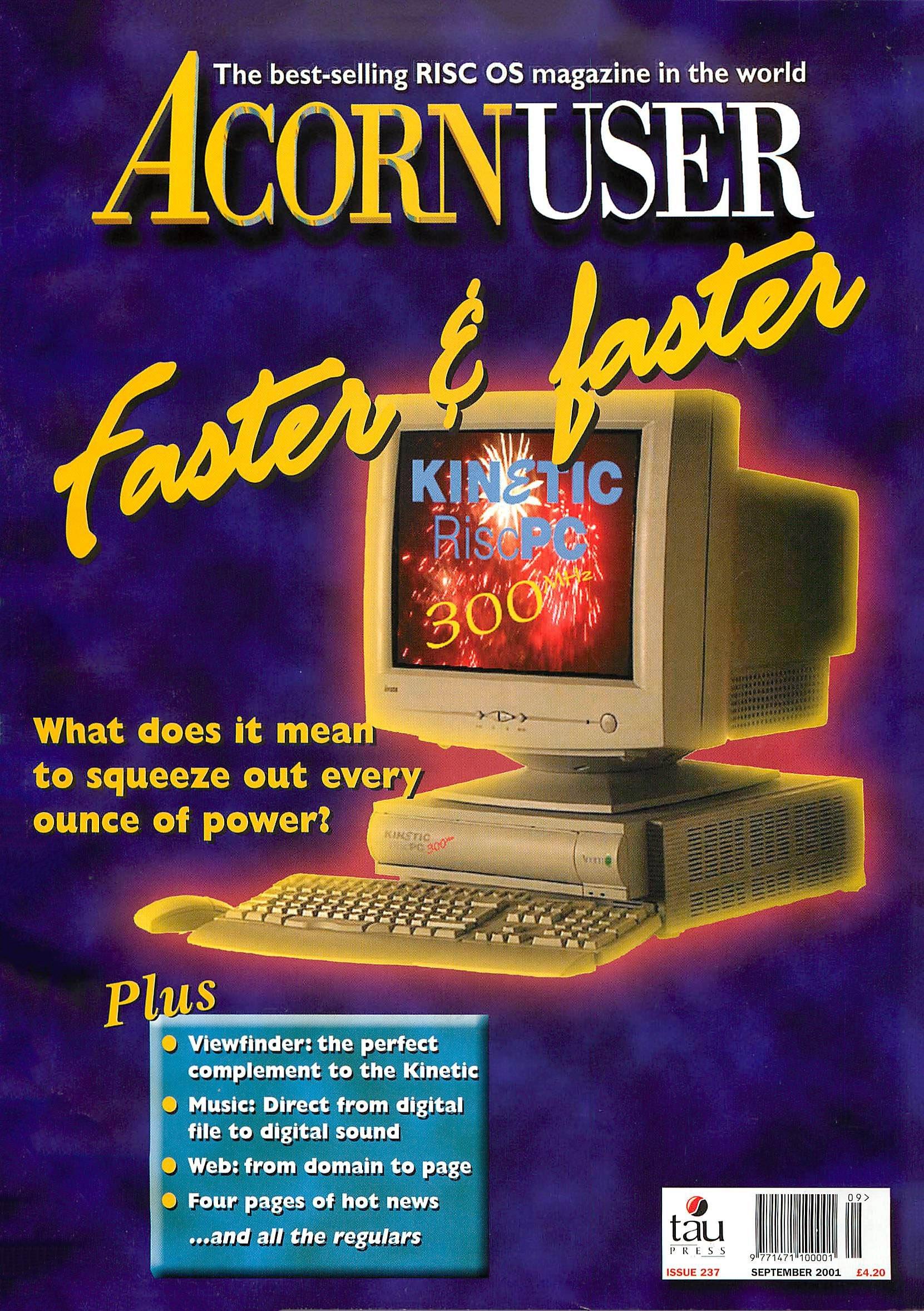 Acorn User 237 (September 2001)