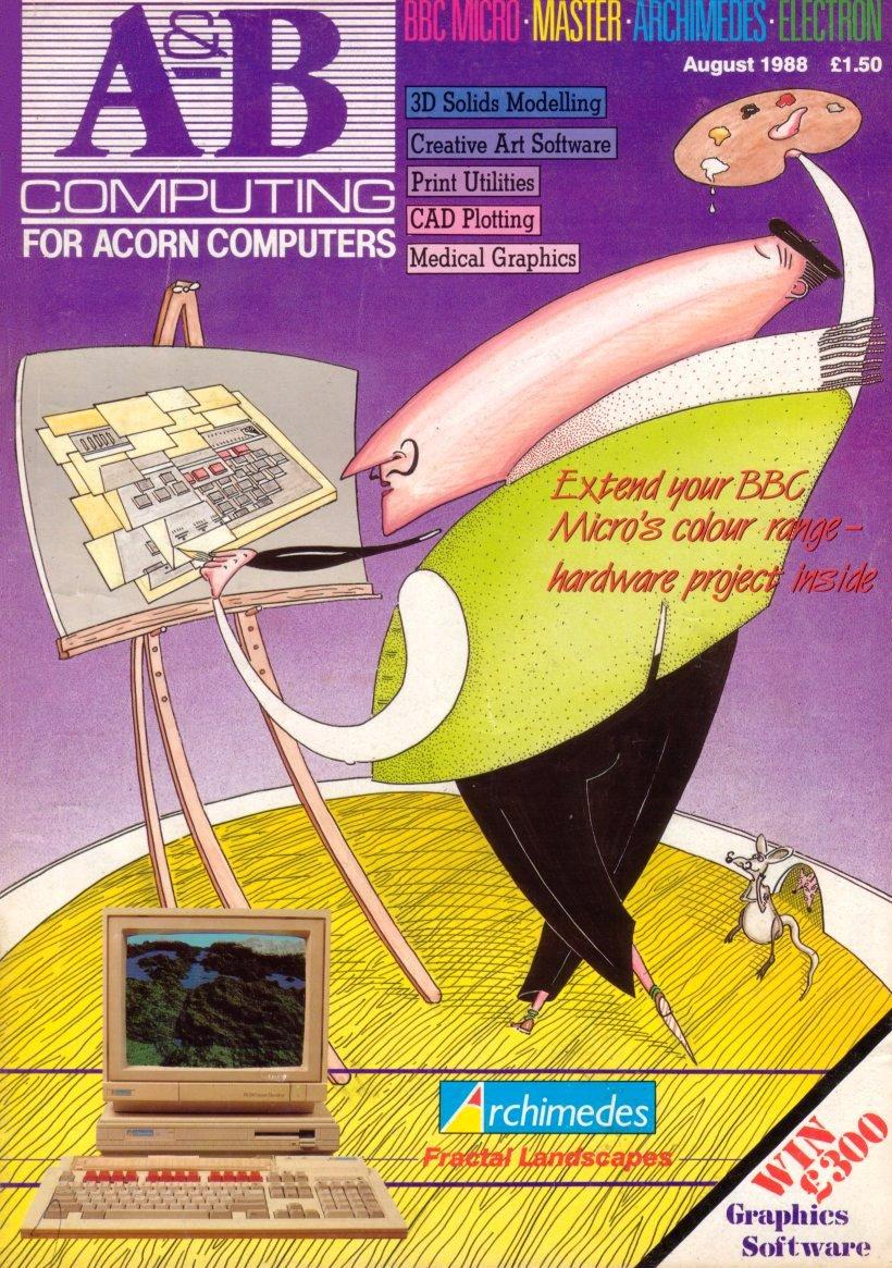 A&B Computing Vol.5 No.08 (August 1988)