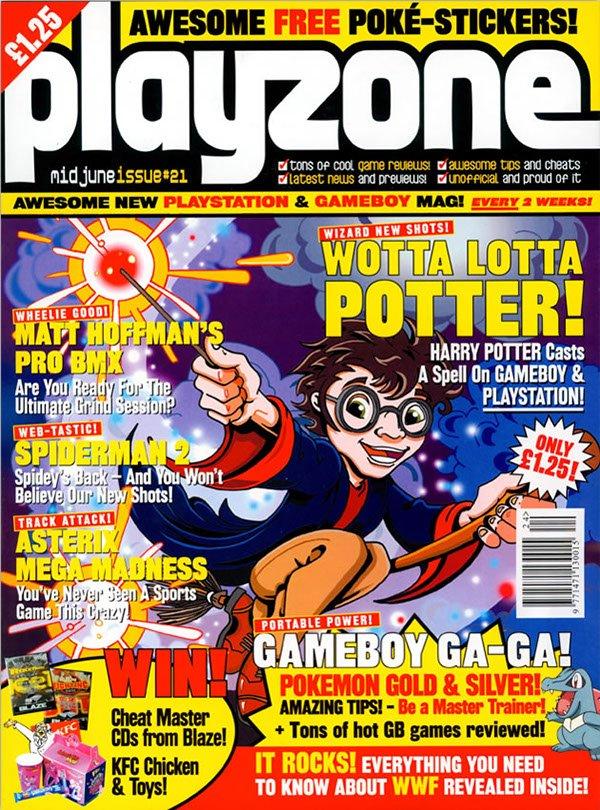Playzone Issue 21 (June 2001)