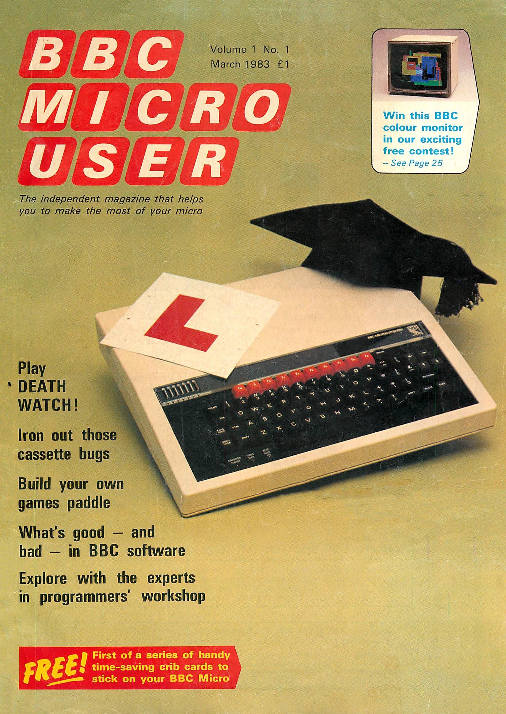 BBC Micro User Vol.01 No.01 (March 1983)