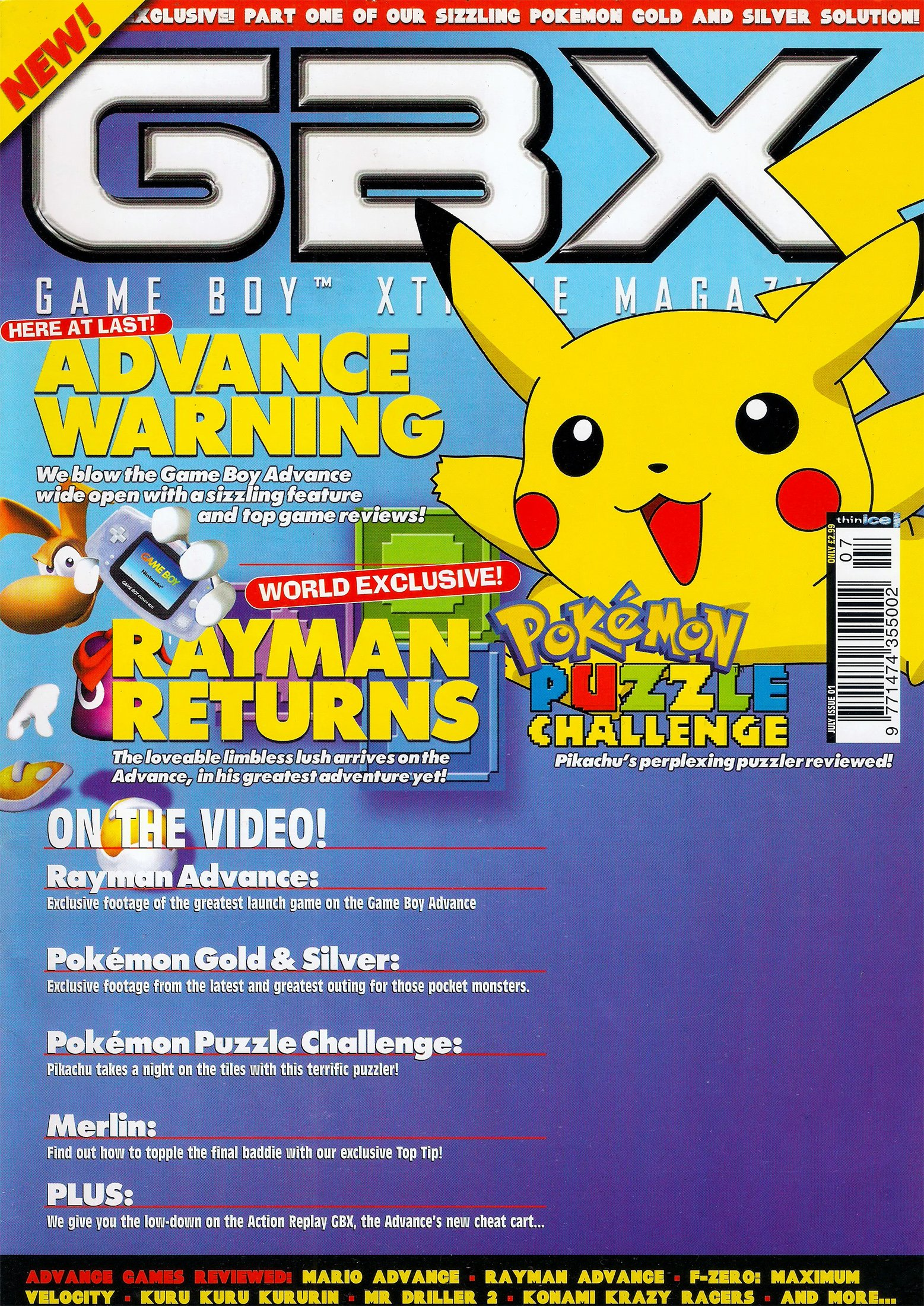 GBX Issue 01 (July 2001)