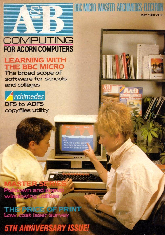 A&B Computing Vol.5 No.05 (May 1988)